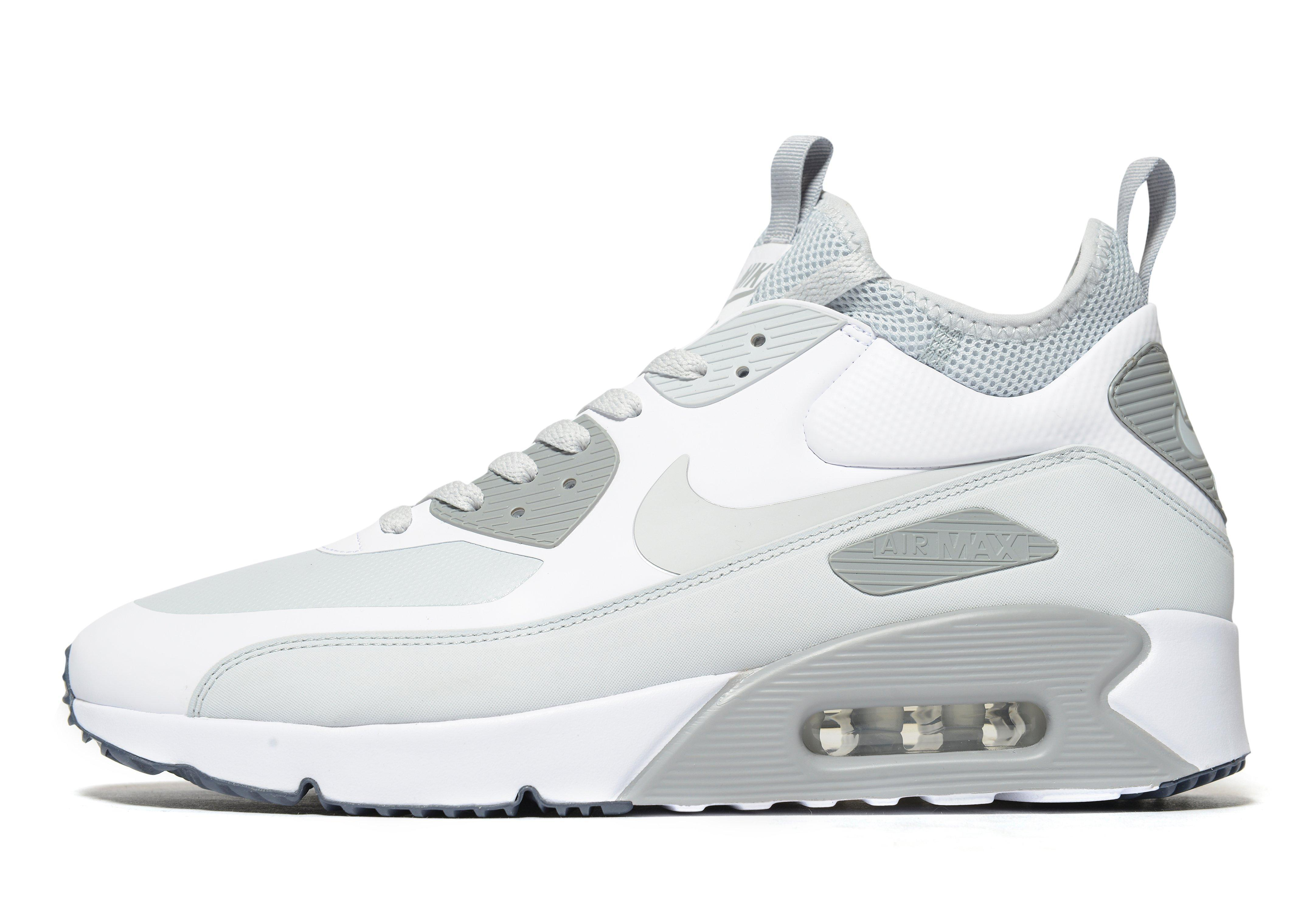 half off 0ff0c f3a36 Nike Rubber Air Max 90 Ultra Mid Winter in White for Men - Lyst