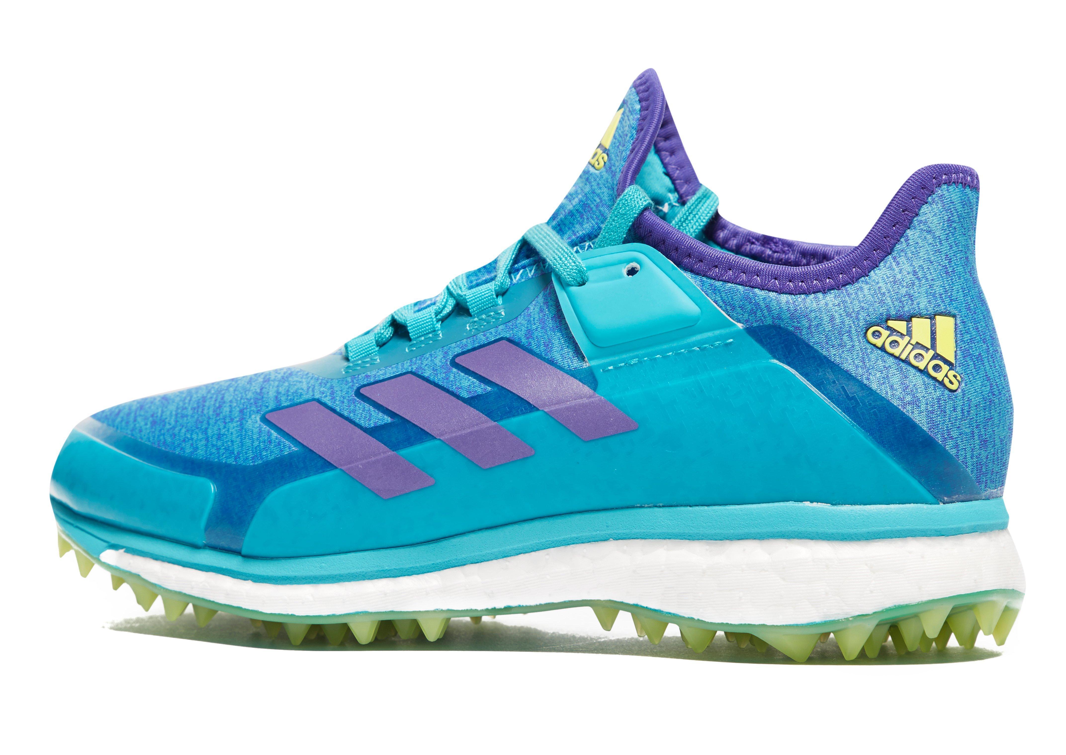 42d60d1d4c48 Adidas Blue Fabela X Aqua Hockey Shoes