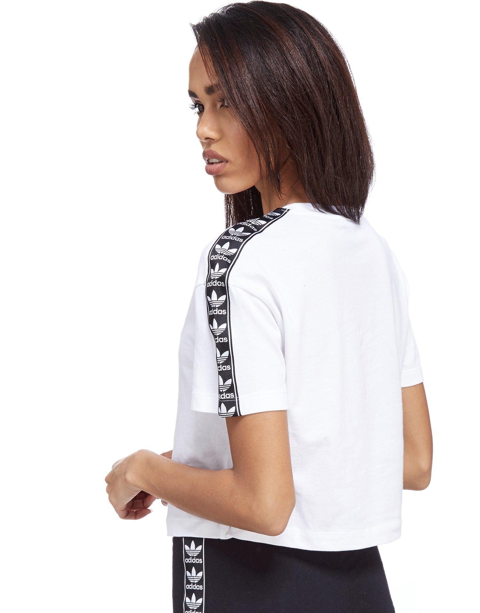 adidas originals crop t-shirt