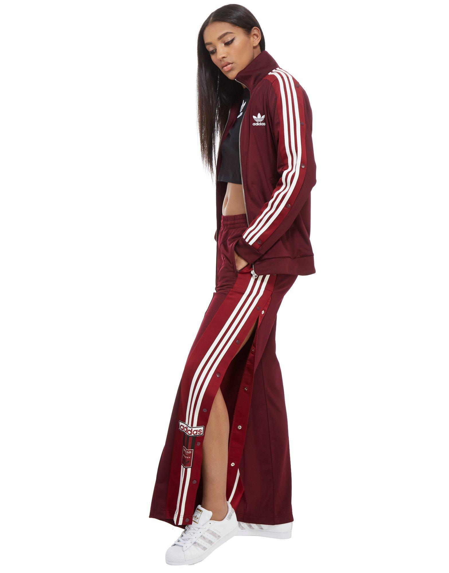 6935968f36a4 adidas Originals Adibreak Track Pants in Red - Lyst