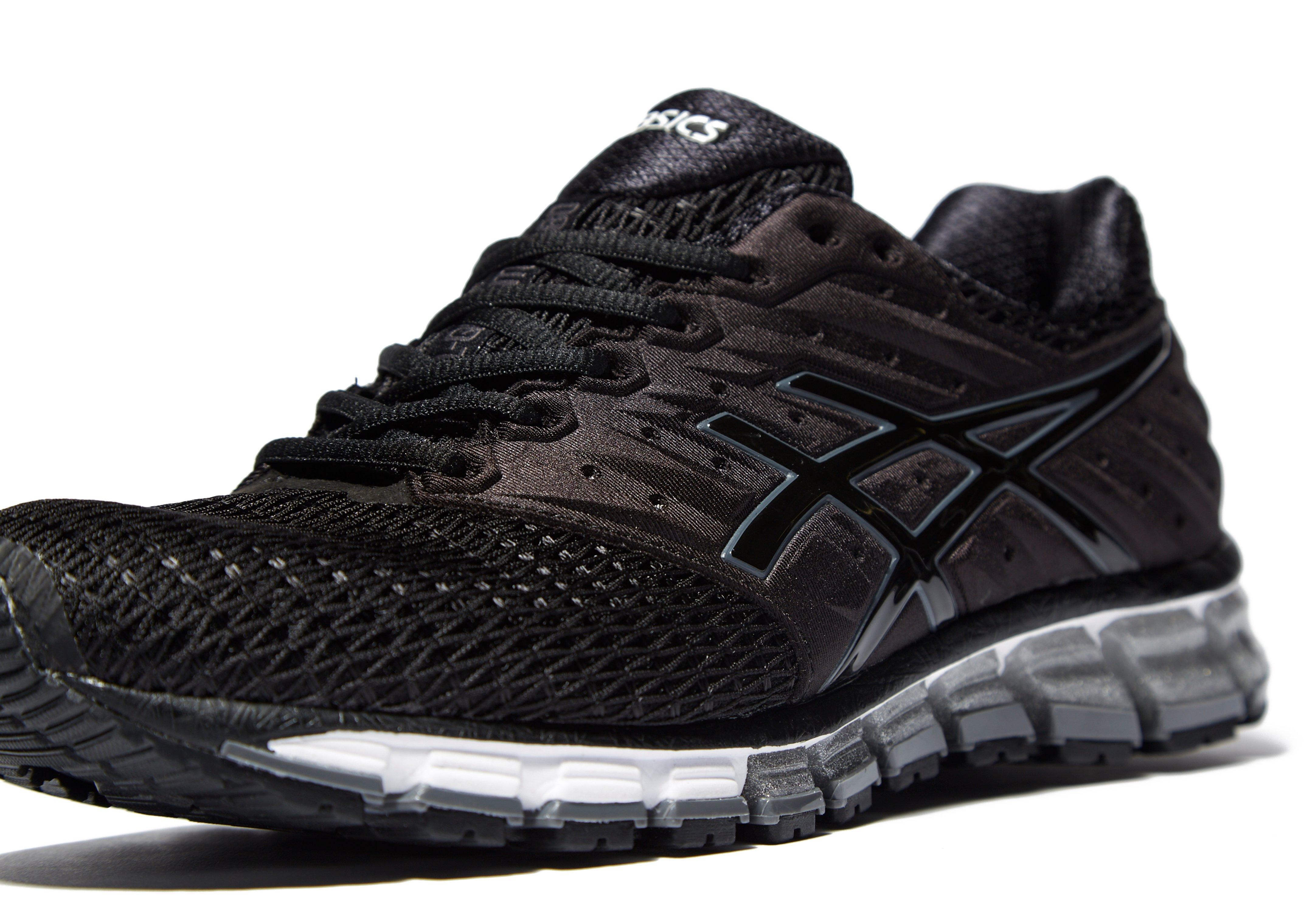 asics gel quantum 180 2 in black for men lyst. Black Bedroom Furniture Sets. Home Design Ideas