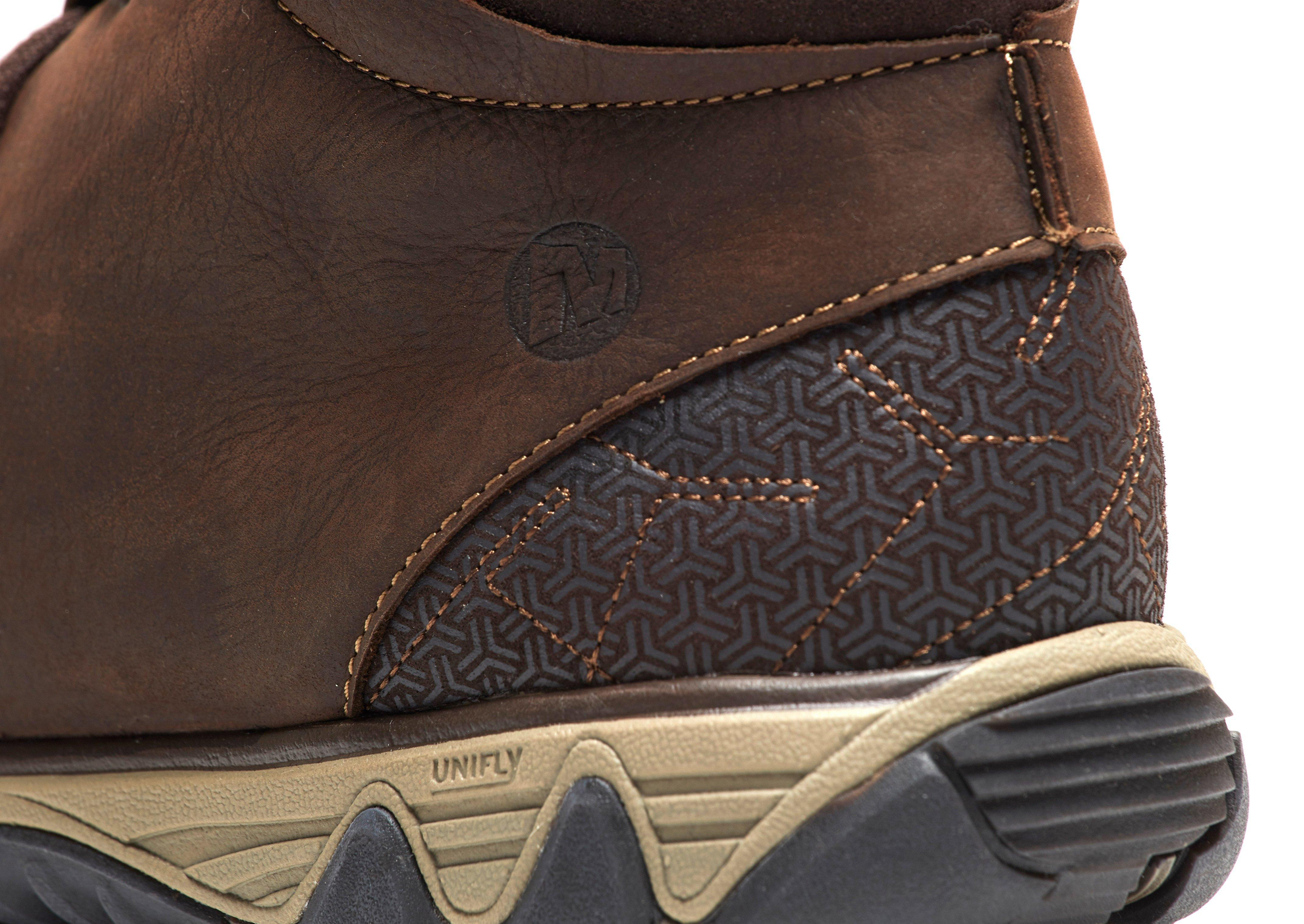 Merrell Leather All Out Blazer Chukka in Brown for Men
