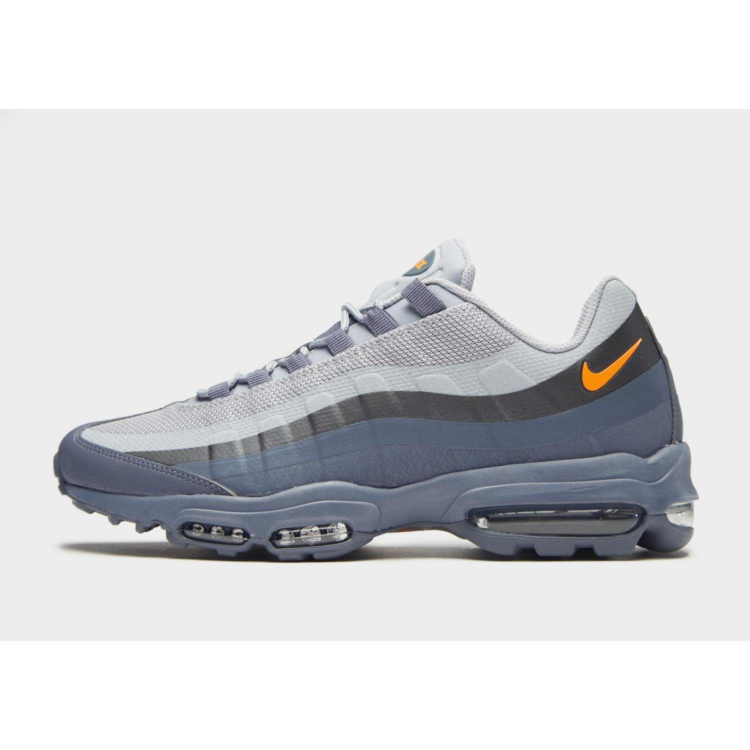 Nike Synthetic Air Max 95 Ultra Se in Grey/Blue/Orange (Blue) for ...