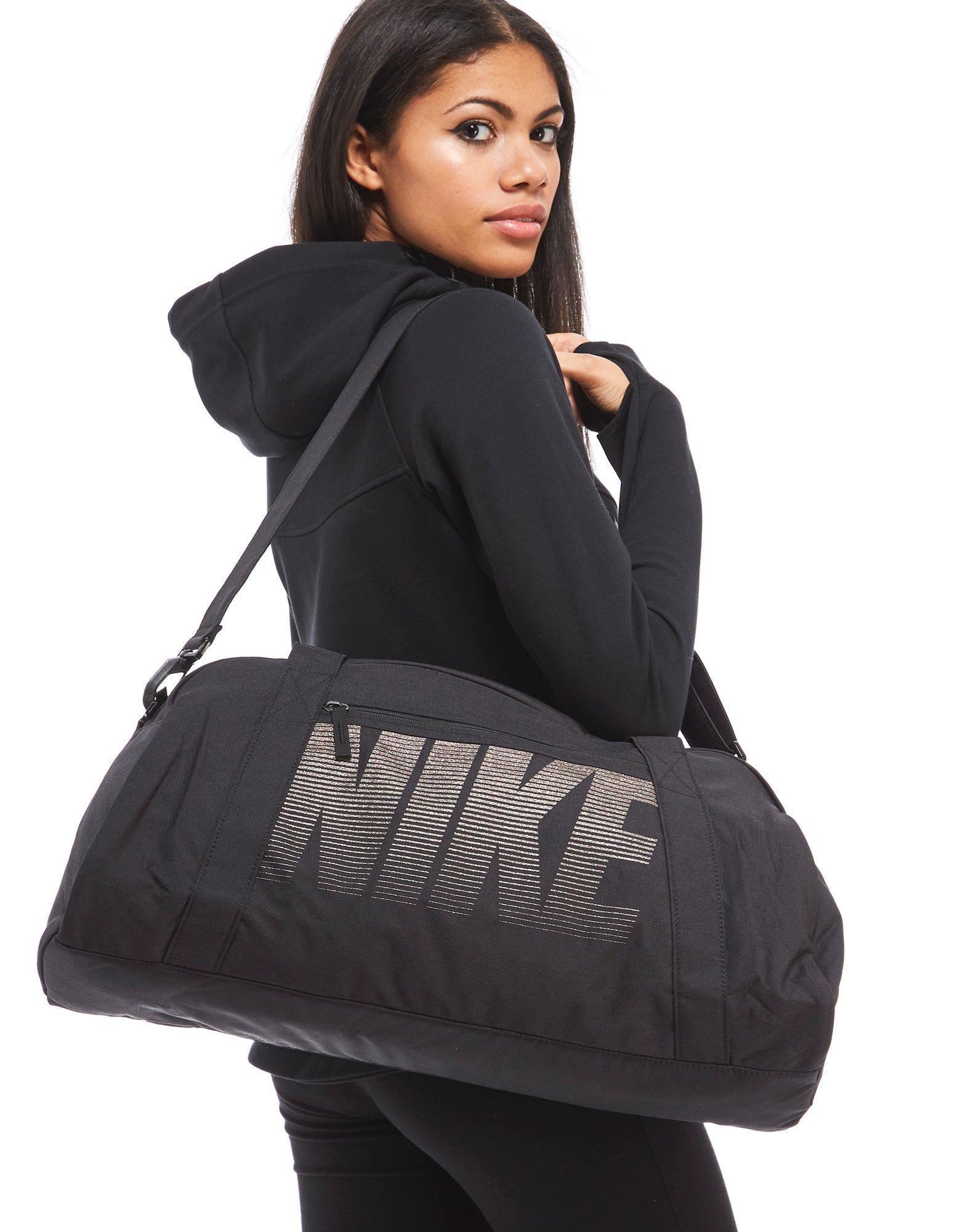 e3c23e2584f42b Nike Gym Club Training Duffle Bag in Black for Men - Lyst