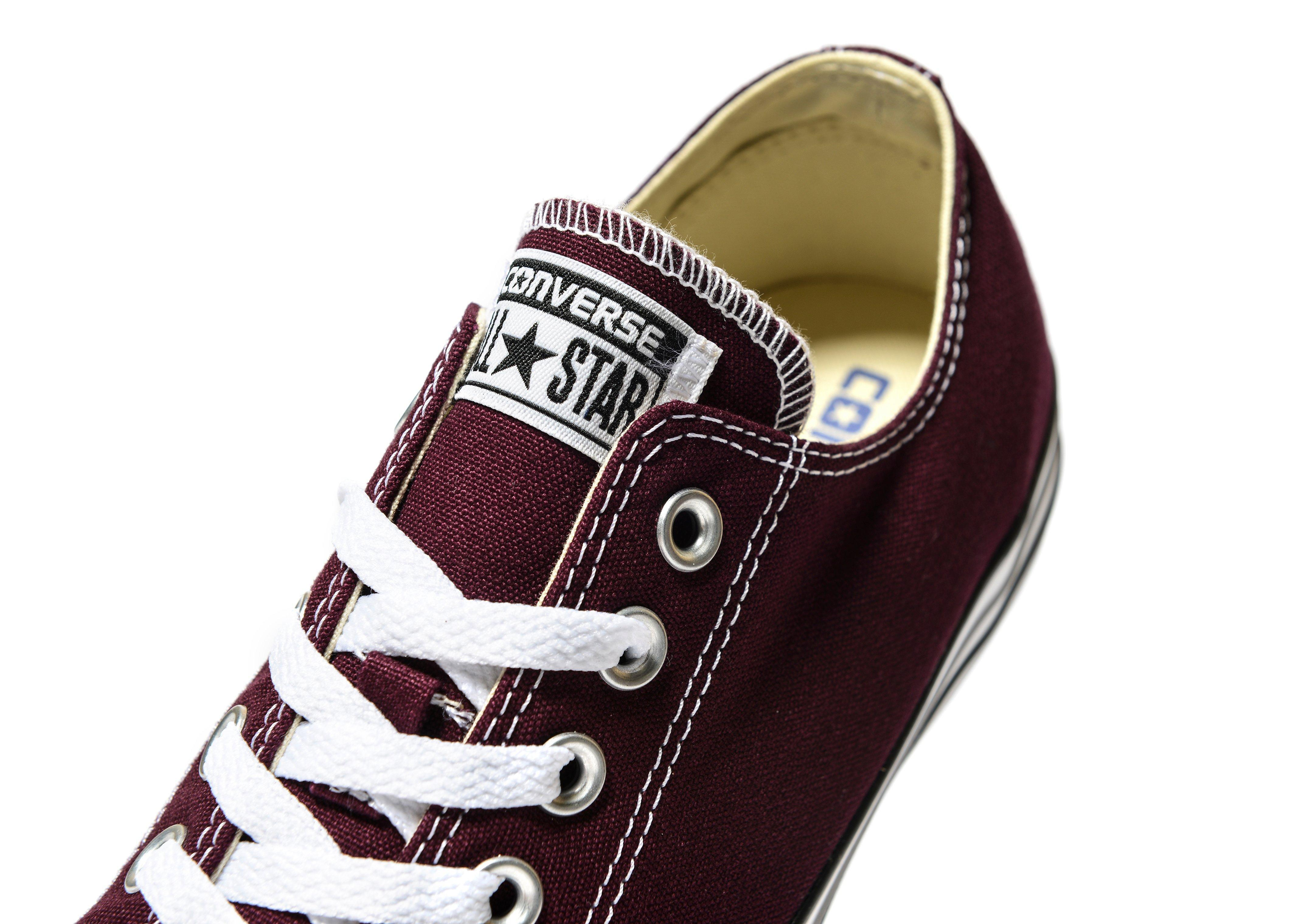 Converse Canvas All Star Ox in Red for Men
