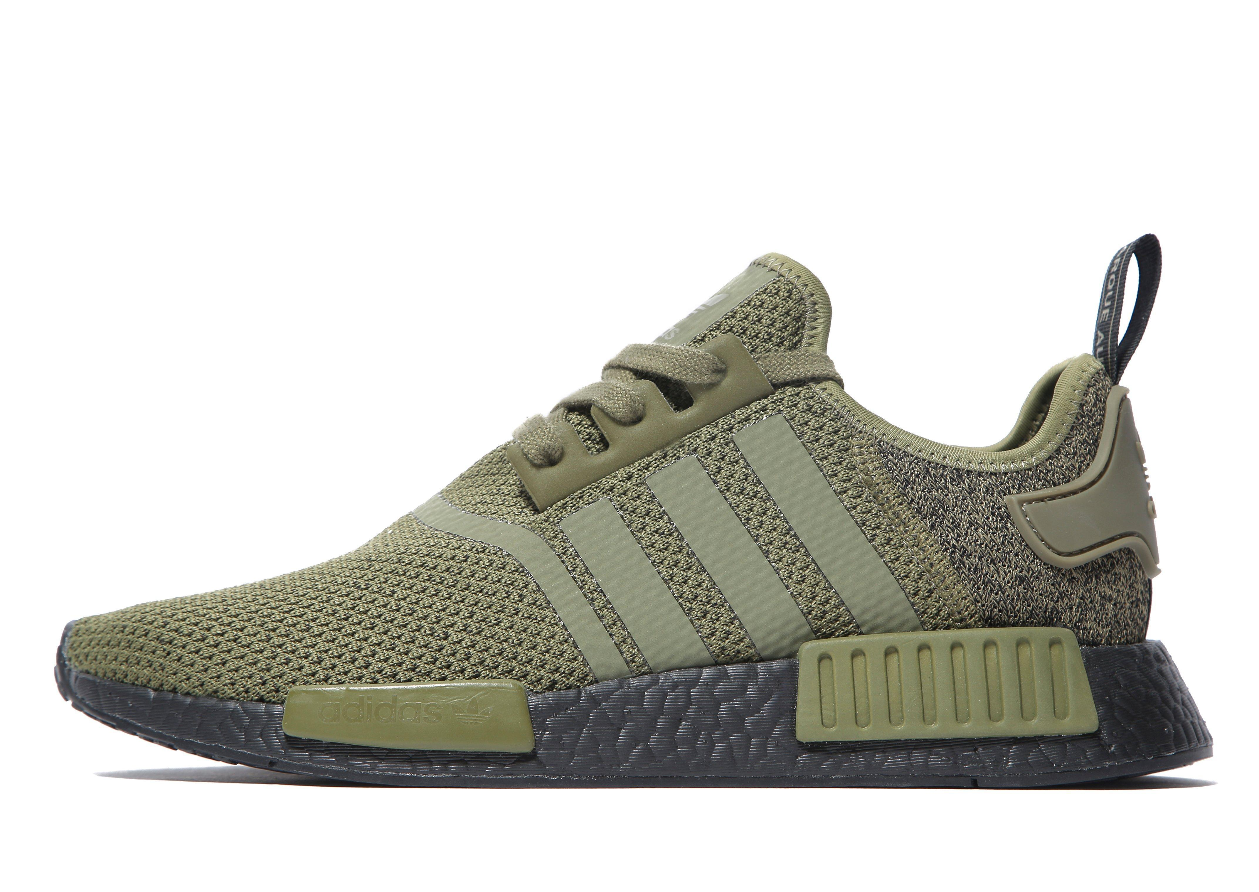 adidas Originals Nmd R1 in Green for Men - Lyst