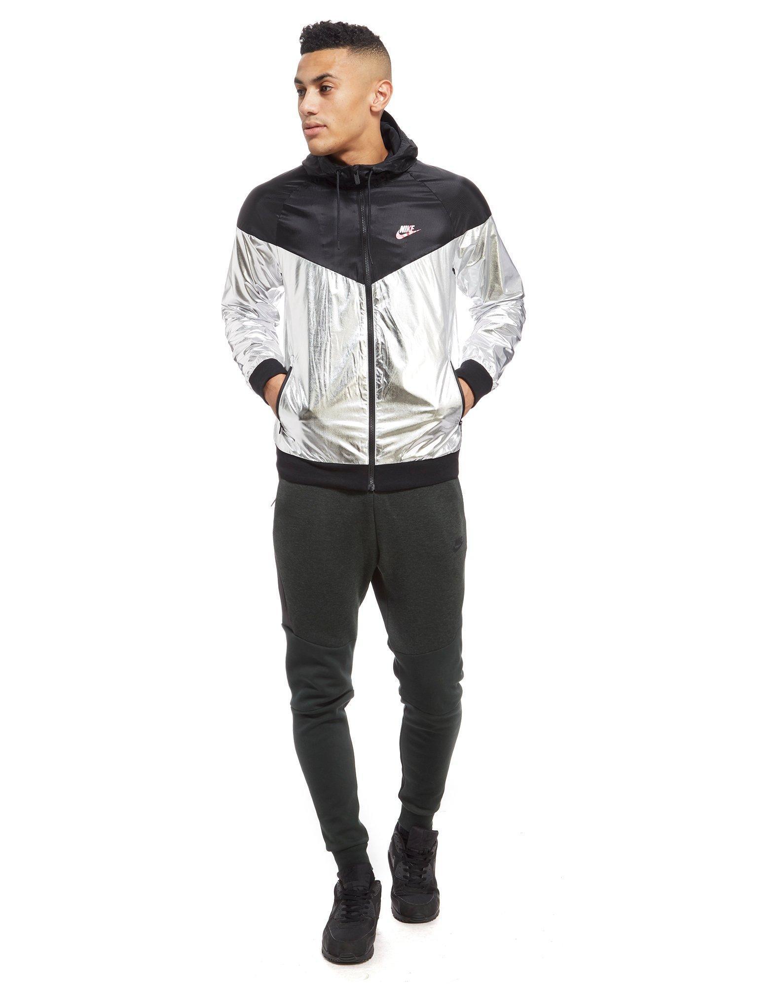 Lyst - Nike Windrunner Lightweight Foil Jacket in Metallic for Men 6db60e14c