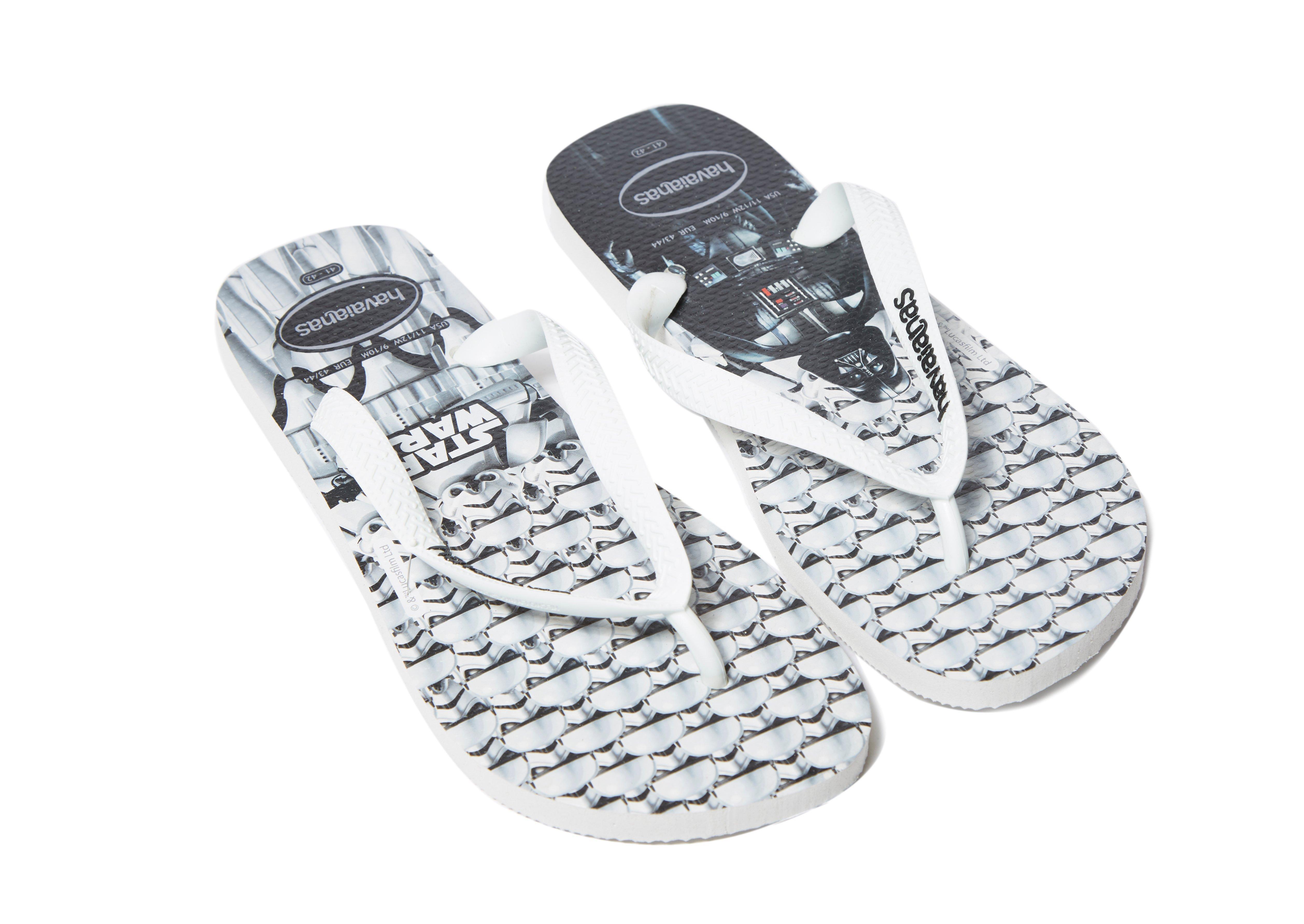 938c874f69d6a8 Lyst - Havaianas Star Wars Flip Flops in White for Men