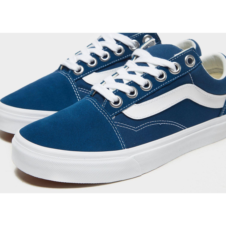 Vans Suede Old Skool Os in Blue/White