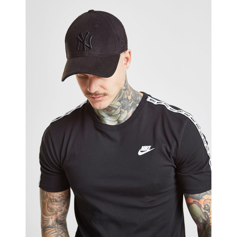 31208e7959b Lyst - KTZ Mlb New York Yankees Fleece 9forty Cap in Black