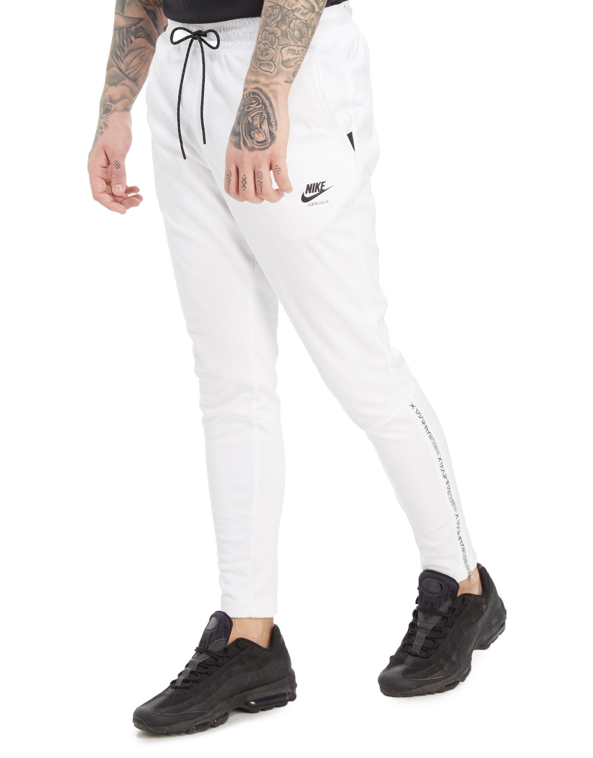 e8566b64f408 Lyst - Nike Air Max Poly Joggers in White for Men