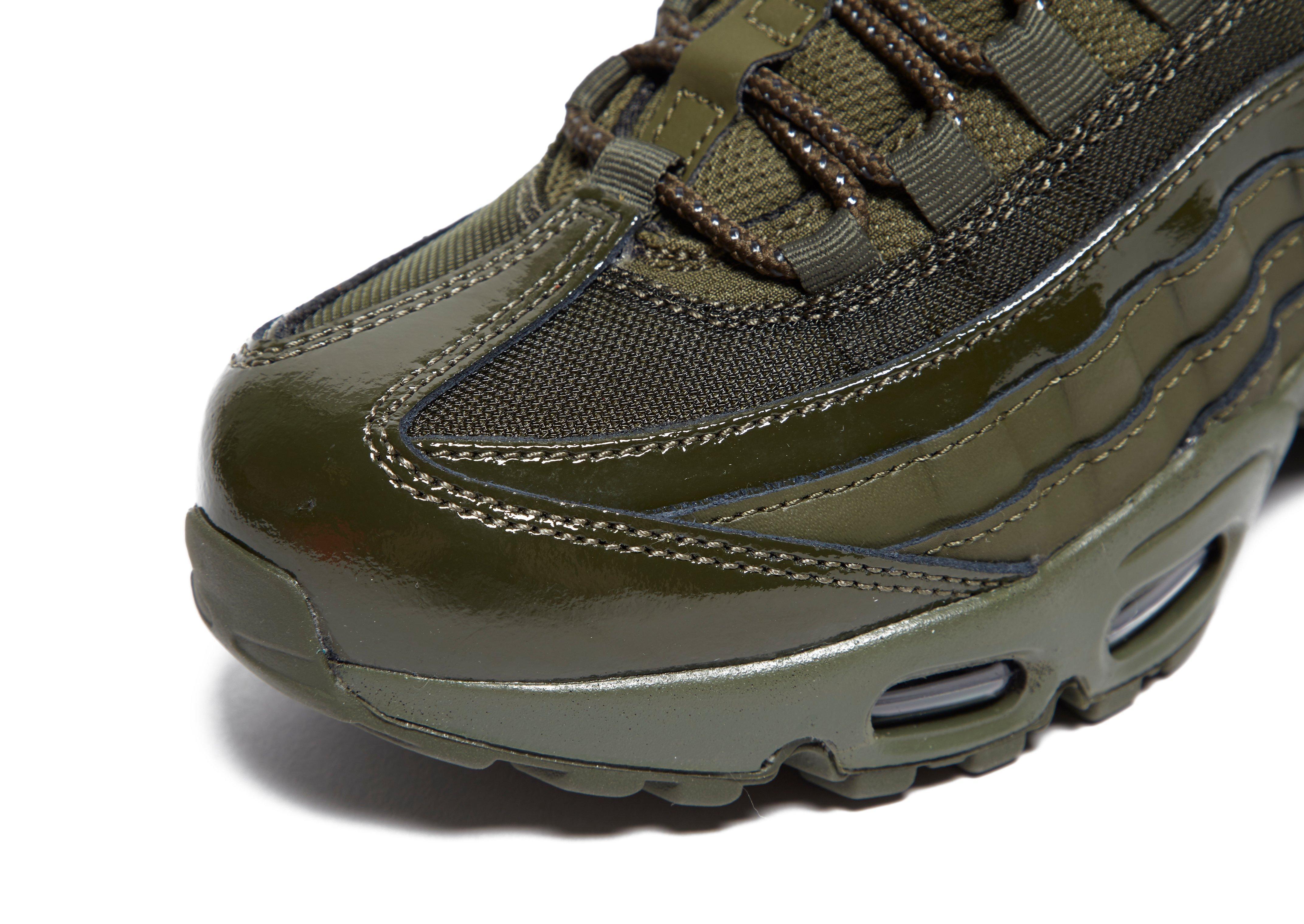 Nike Khaki Glossy Shoes