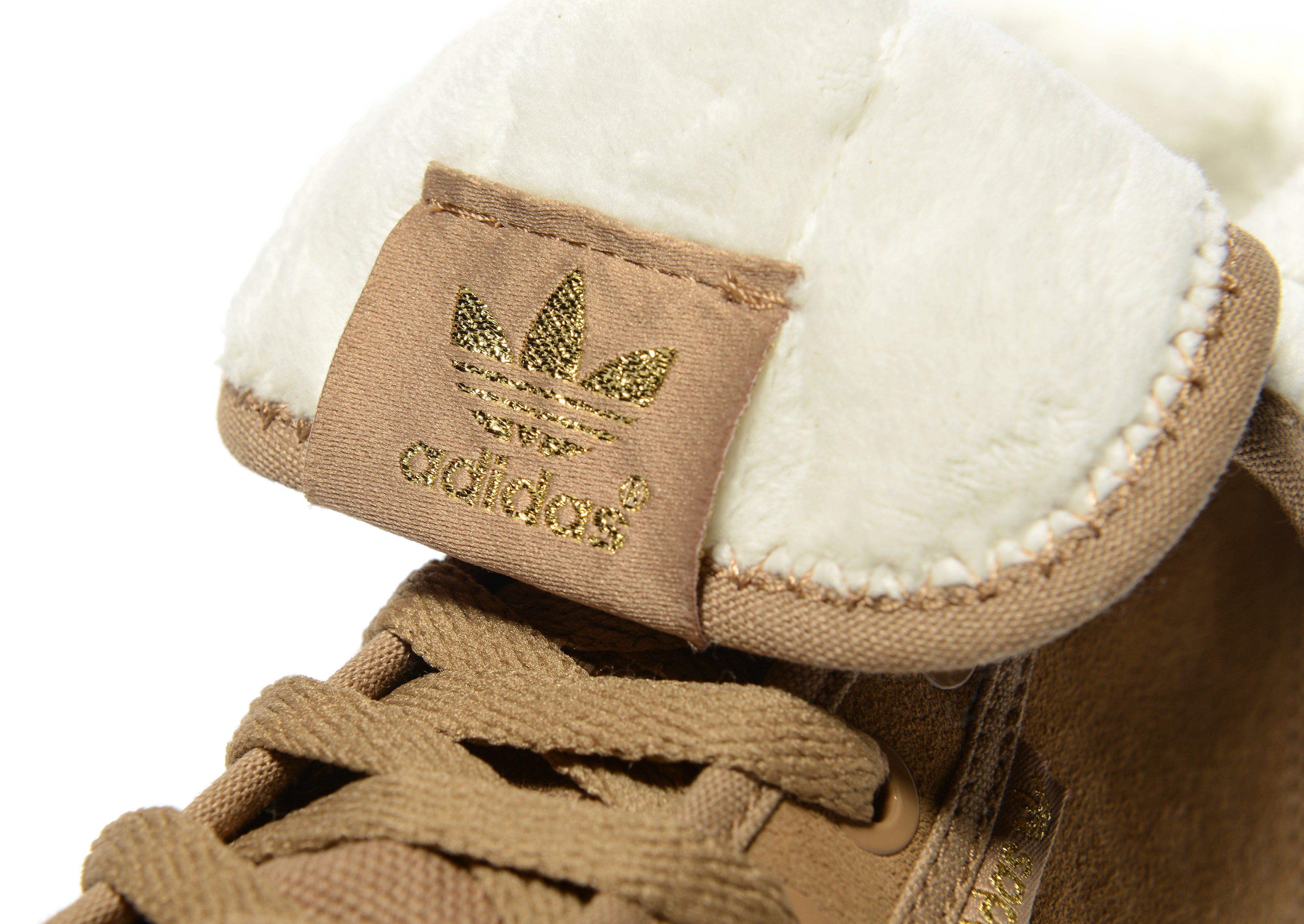 adidas Originals Honey Hi Shearling Women's Hi Top Trainer