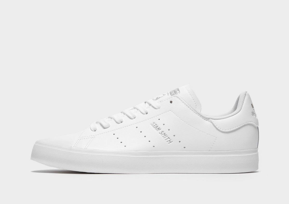 Leather Stan Smith Vulc in White