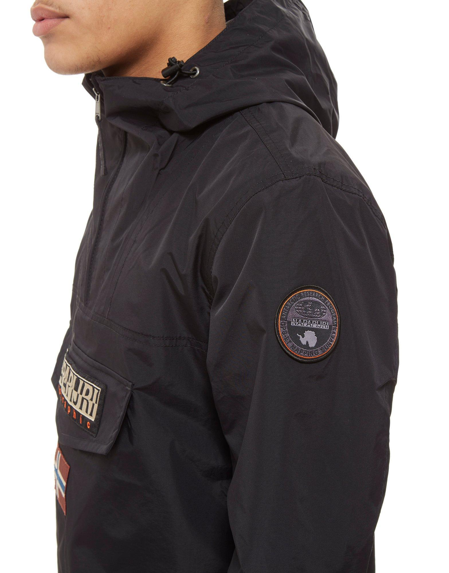 Napapijri Synthetic Rainforest Lightweight Jacket in Black for Men