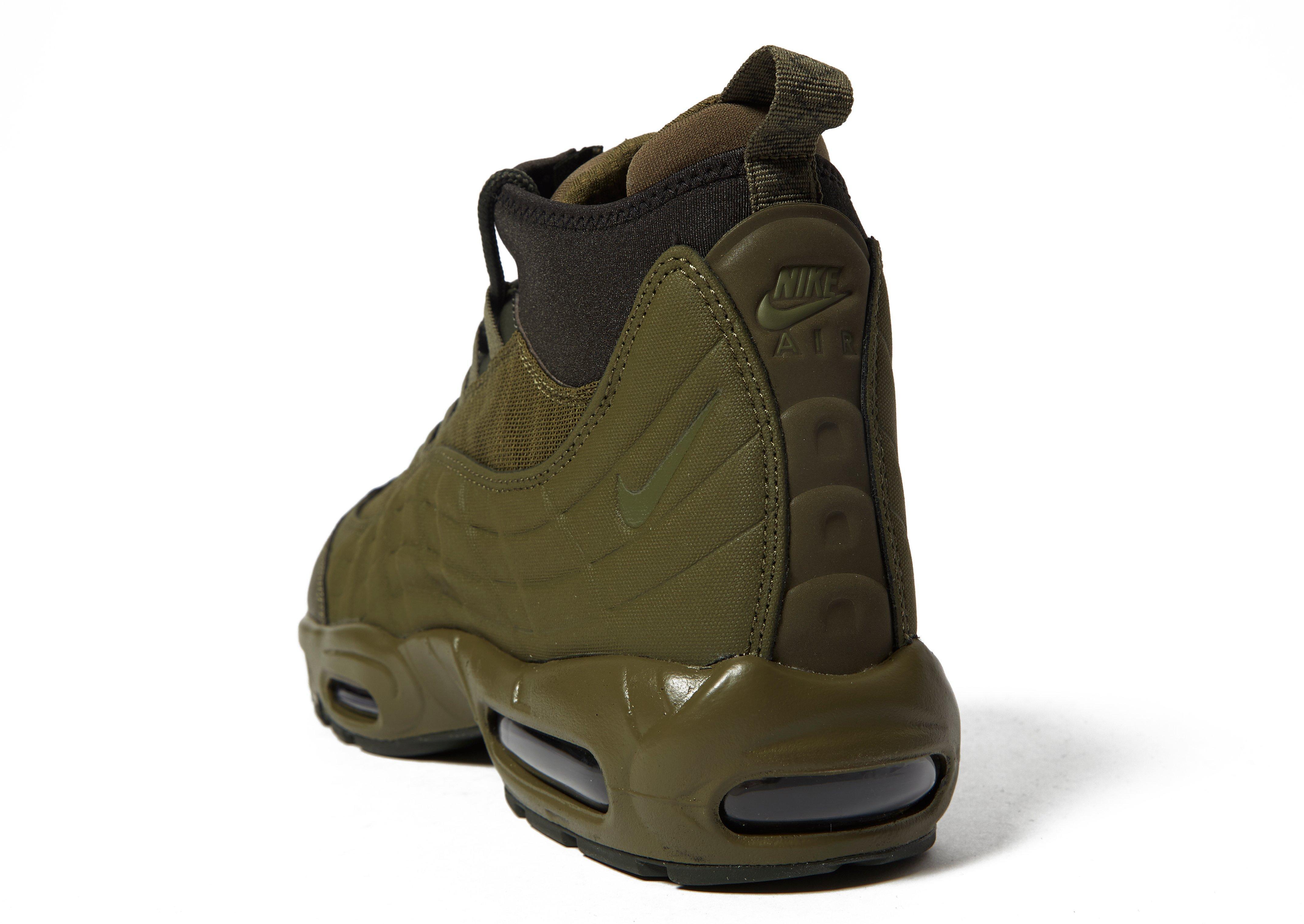 7e21808280 uk lyst nike air max 95 sneakerboot in green for men ac241 8f45b