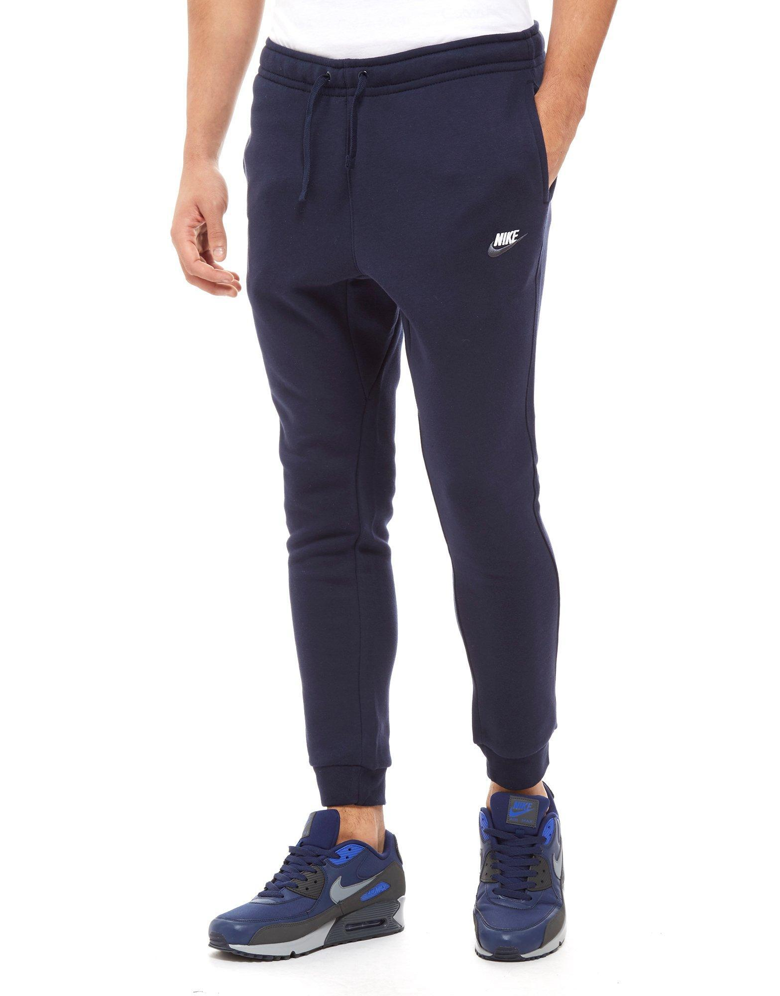 nike foundation fleece track pants grey