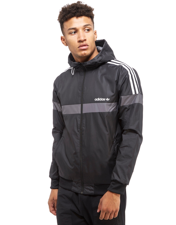 Lyst - Adidas Originals Itasca Reversible Jacket in Gray ...