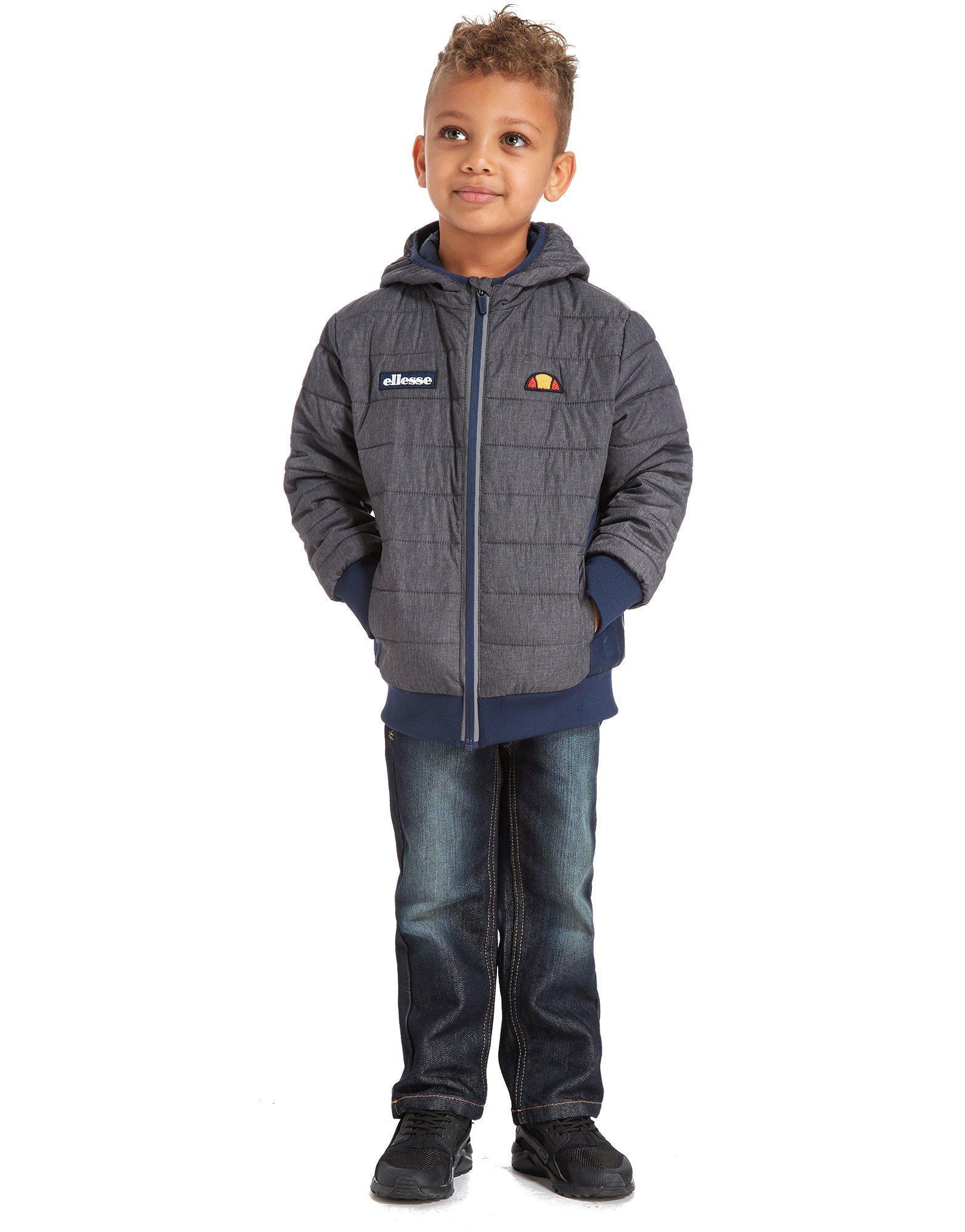 Ellesse Synthetic Mustri Jacket Children in Grey/Navy (Grey) for Men