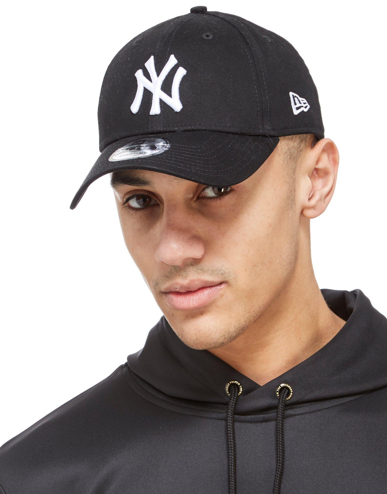 Lyst - KTZ Mlb New York Yankees 9forty Cap in Black 788c0a01313