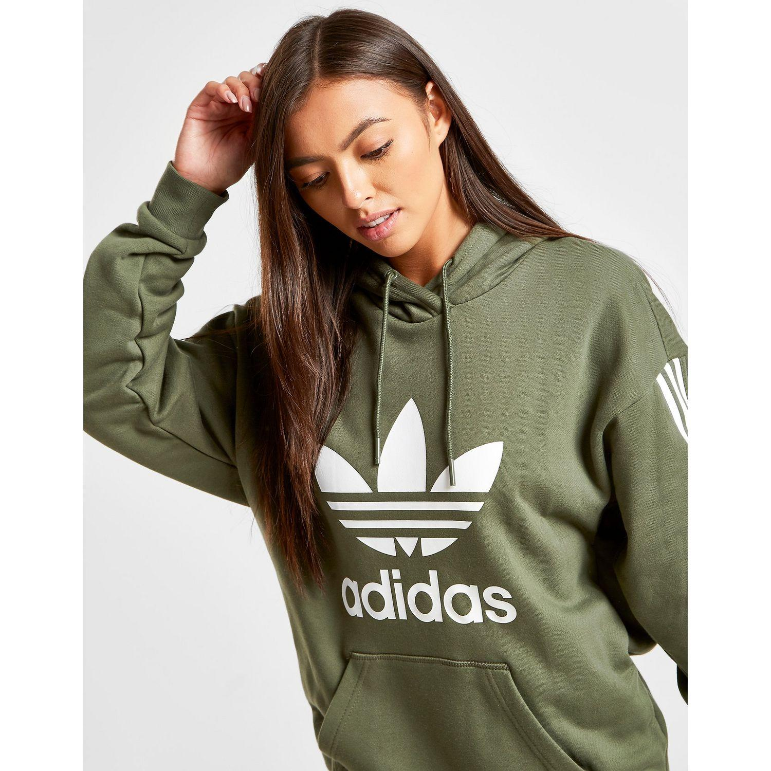 3-stripes Lock Up Boyfriend Hoodie