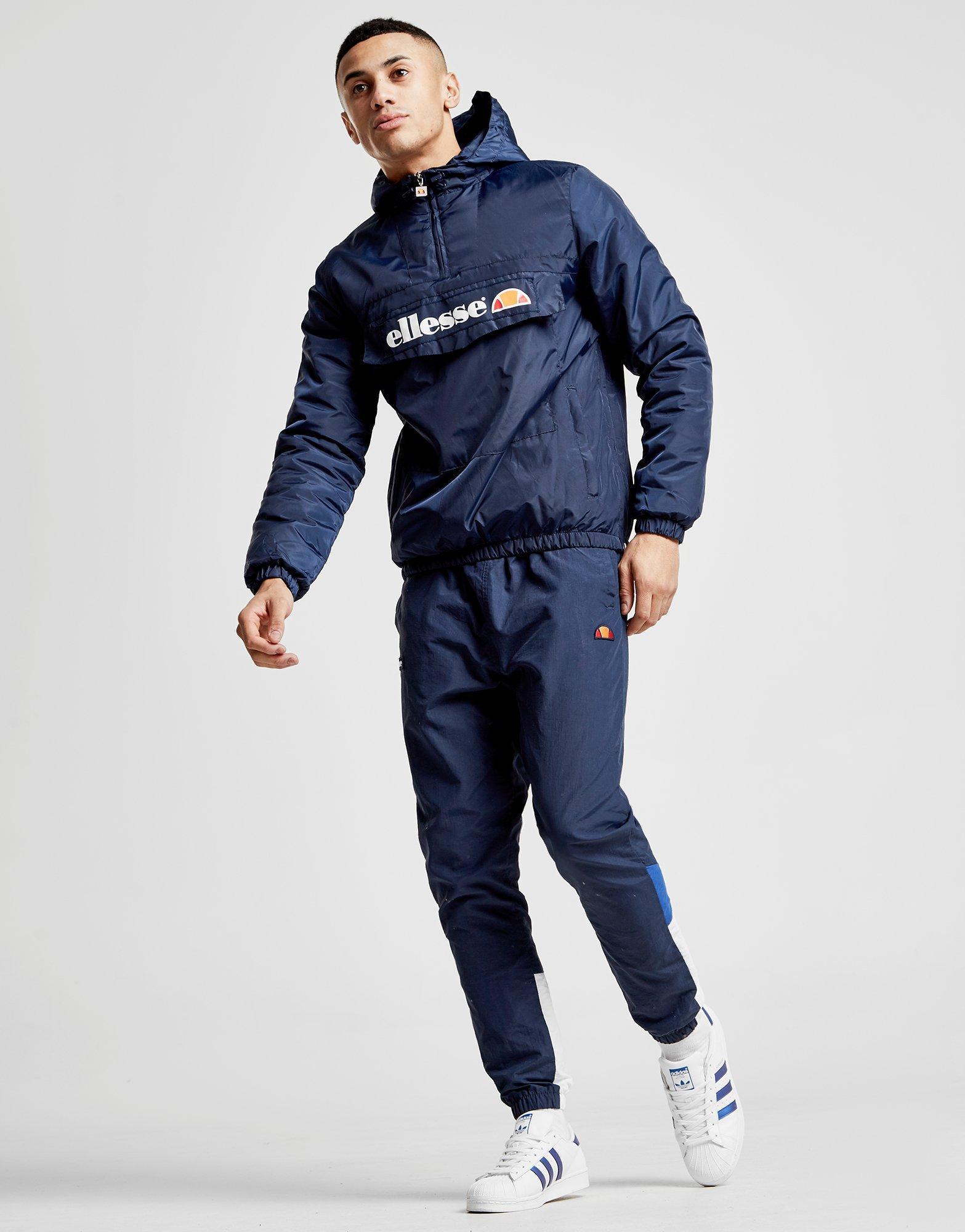 c9075b95149 Ellesse Blue Mont 1/4 Zip Jacket for men