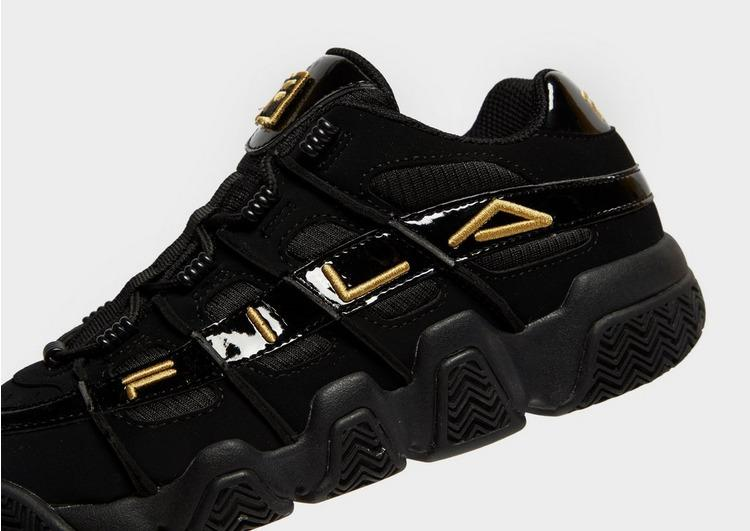 Fila Leather Uproot in Black/Gold