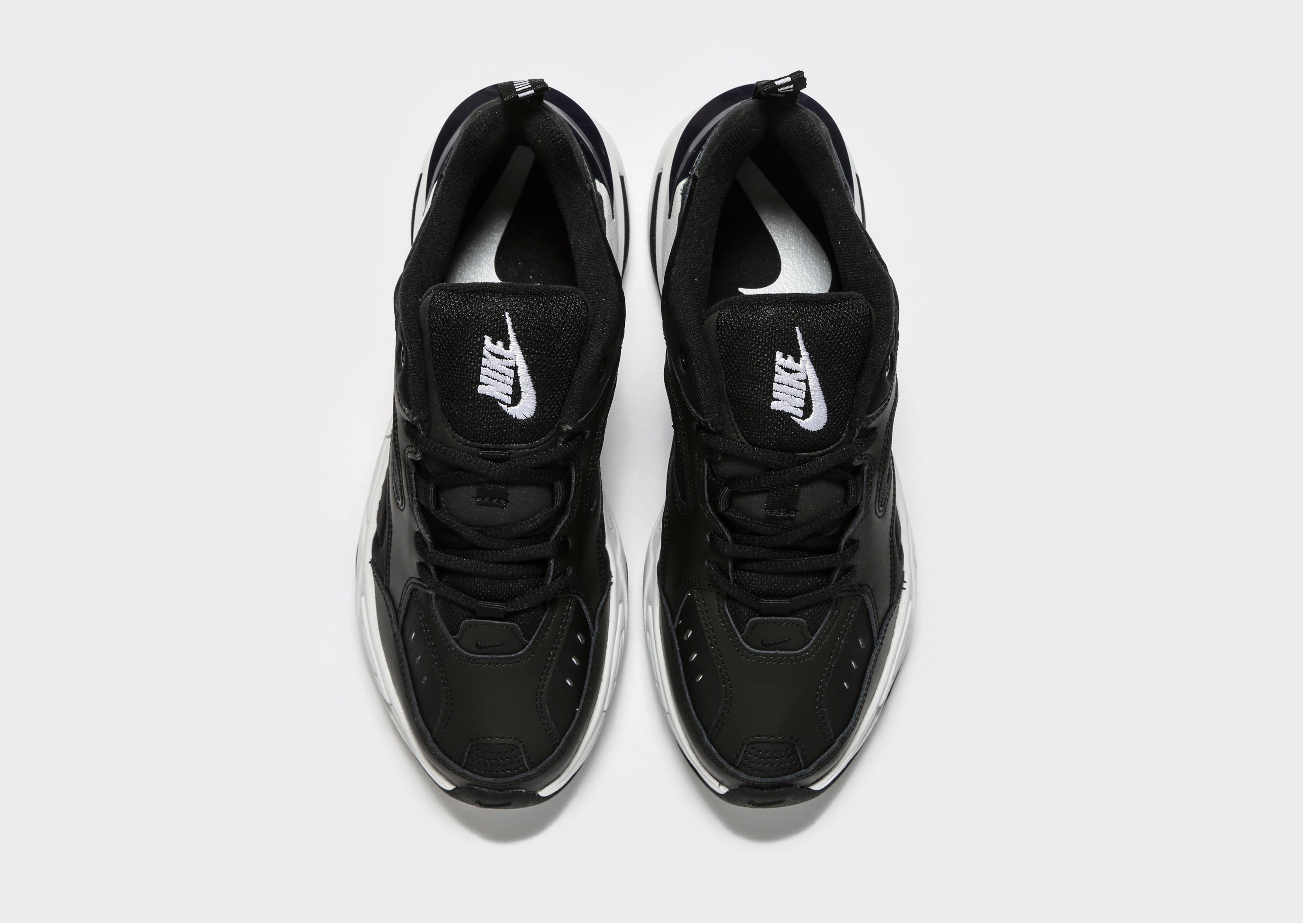 Nike Leather M2k Tekno in Black for Men