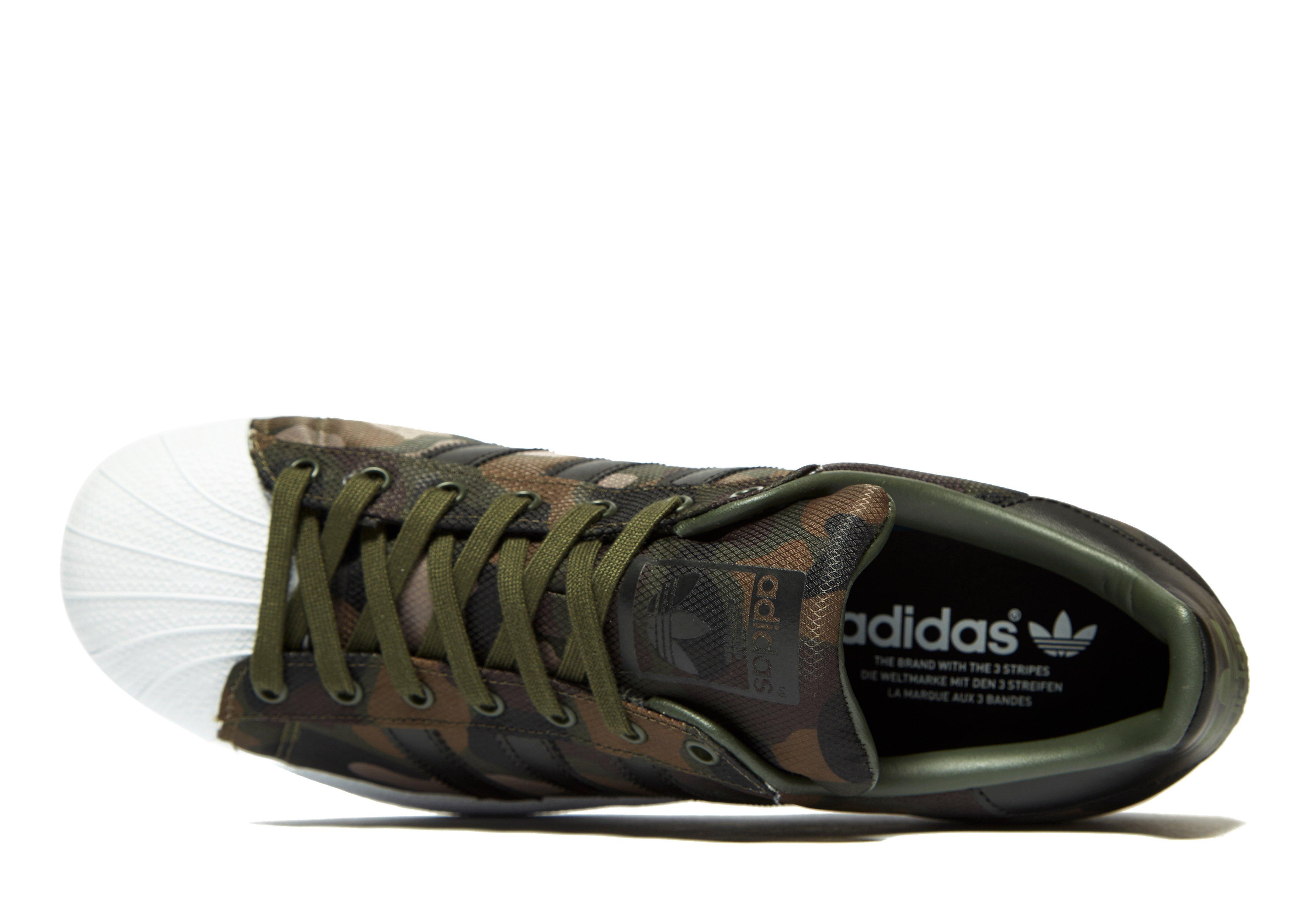adidas Originals Rubber Superstar Camo in Cargo (Green) for Men