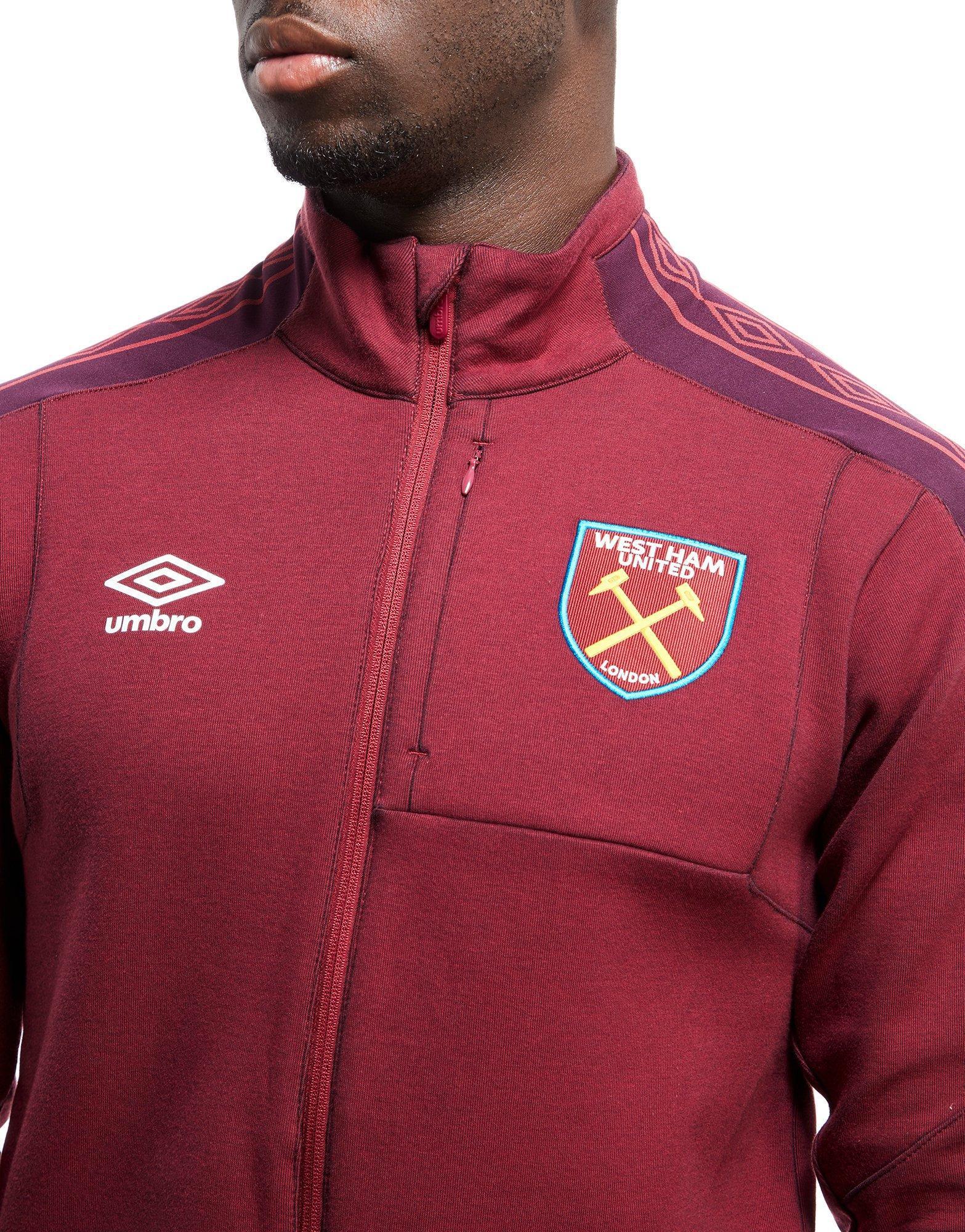 West Ham United football club leather snap fit belt