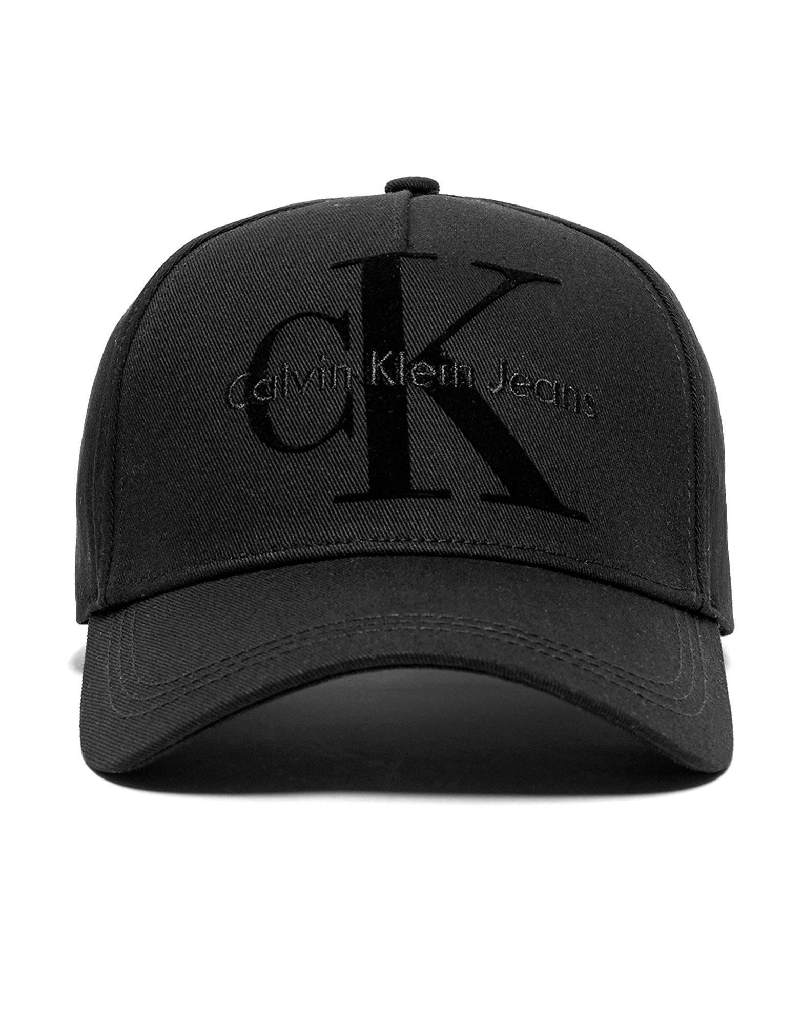 eb21bf51b Calvin Klein Re-issue Baseball Cap in Black for Men - Lyst
