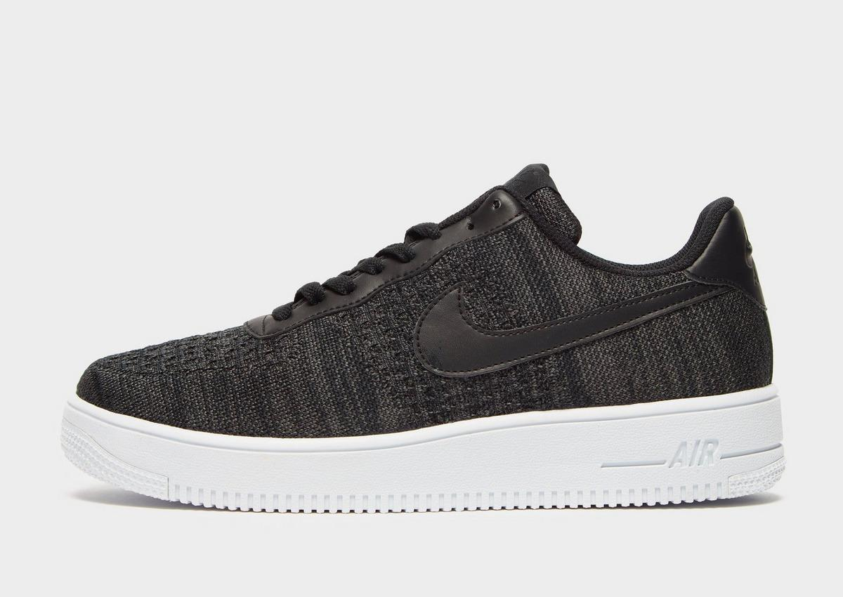 Nike Synthetic Air Force 1 Flyknit 2.0 in Black/Grey (Black) for ...