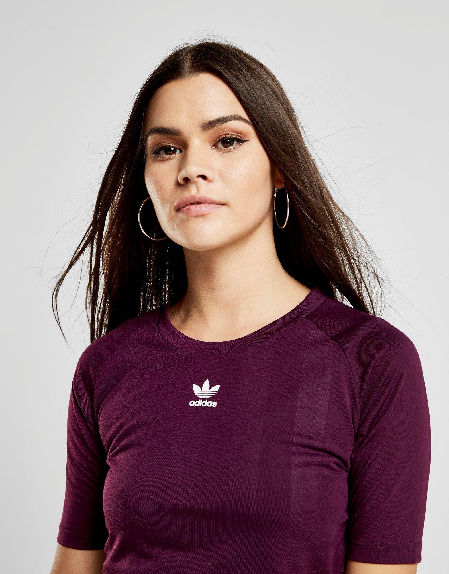 Crop Football T shirt