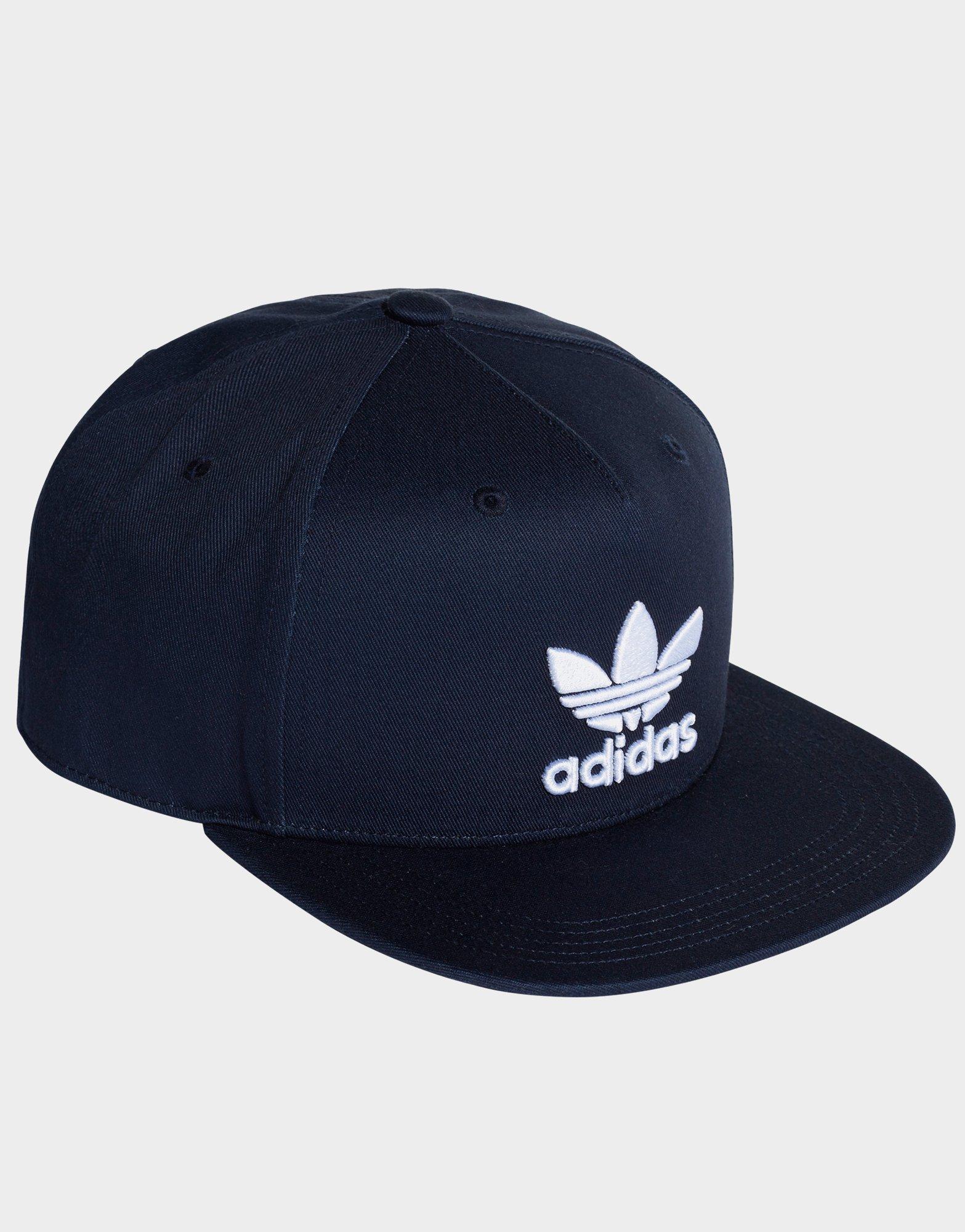 c052c155cc0 Adidas - Blue Trefoil Snap-back Cap - Lyst. View fullscreen