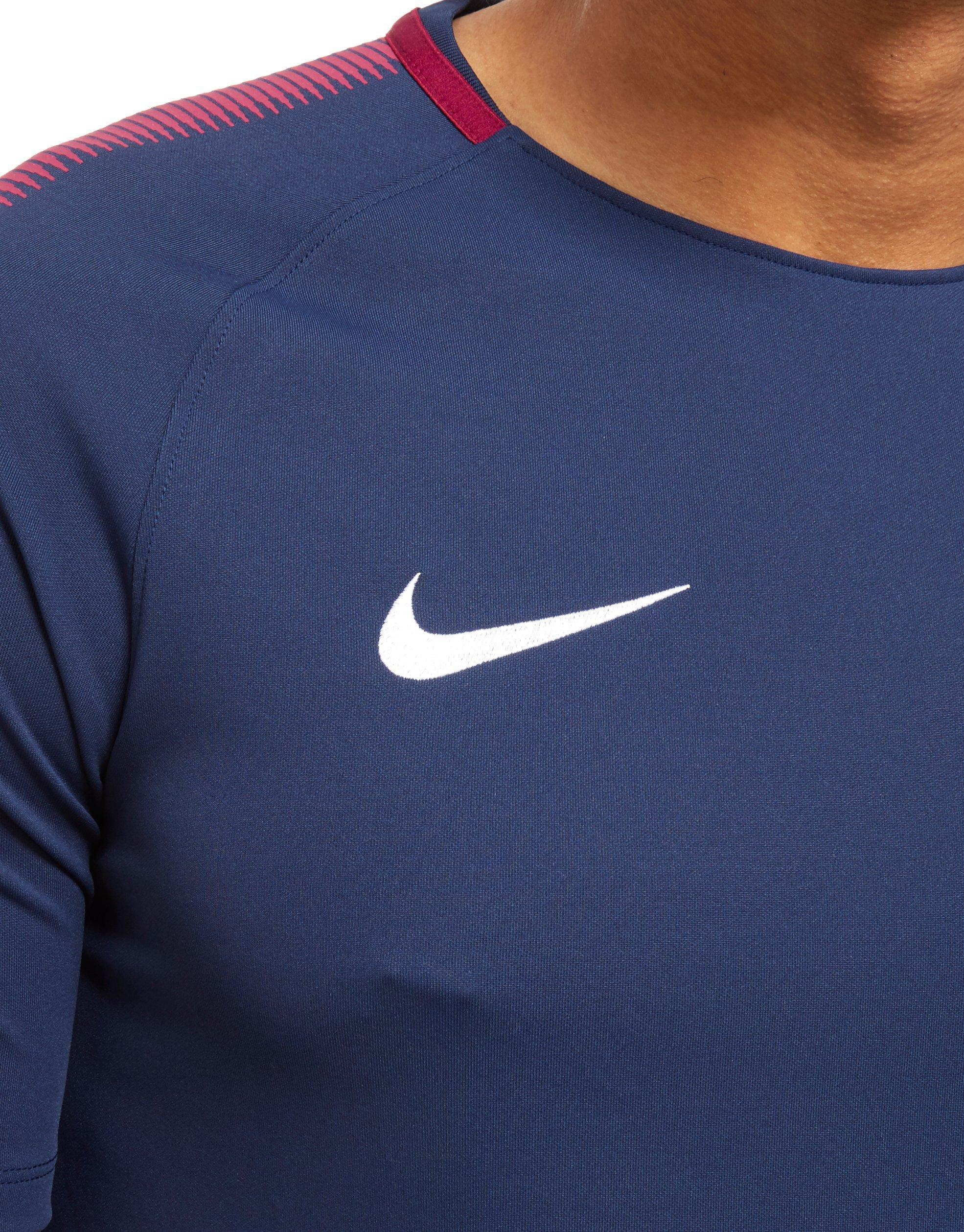 Nike Synthetic Manchester City Fc Training Jersey in Navy (Blue) for Men