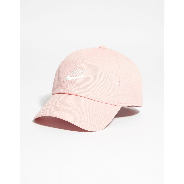 34d1c83b11c Lyst - Nike Futura Washed H86 Cap in Pink