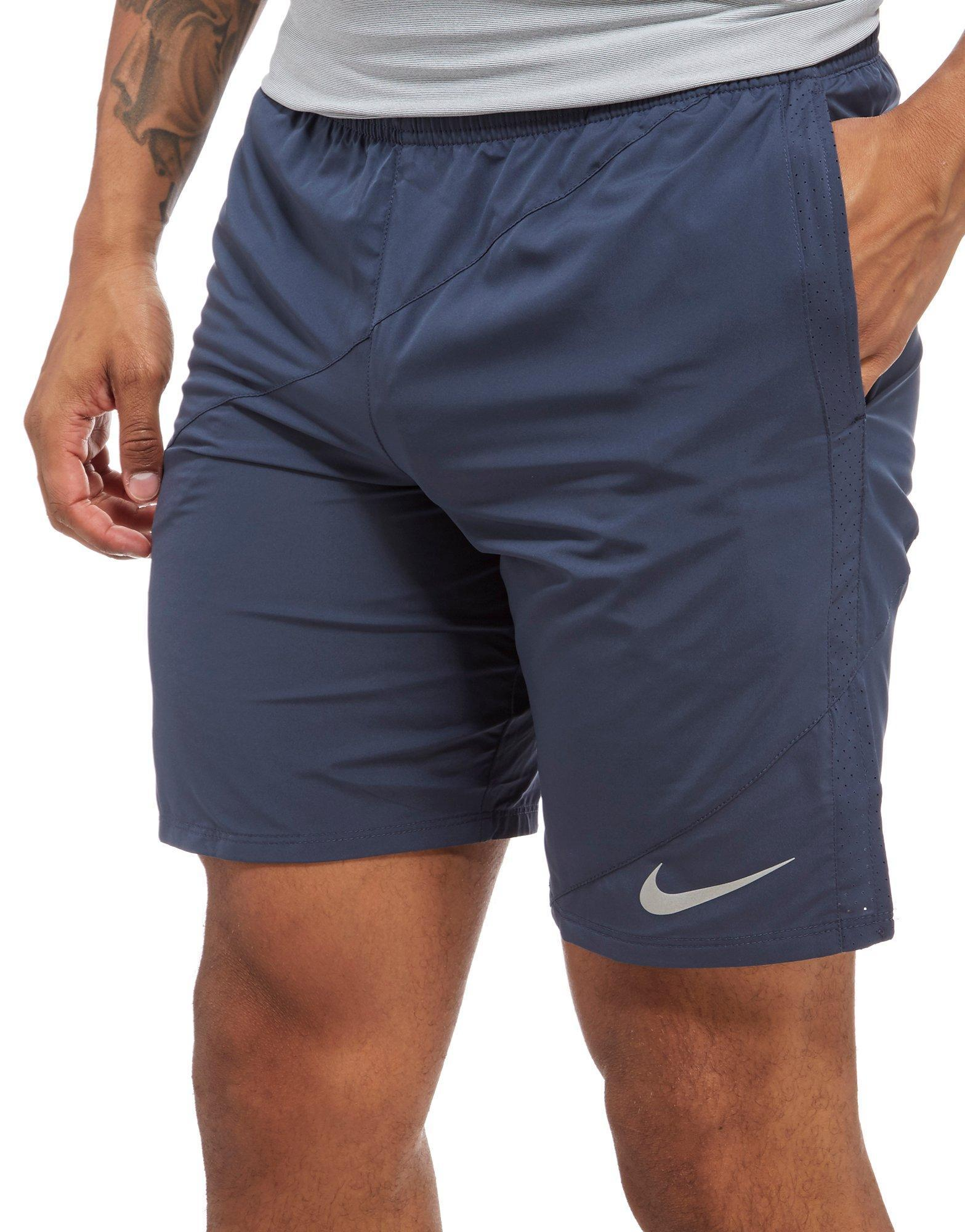 """Lyst - Nike Distance 9"""" Running Shorts in Blue for Men"""