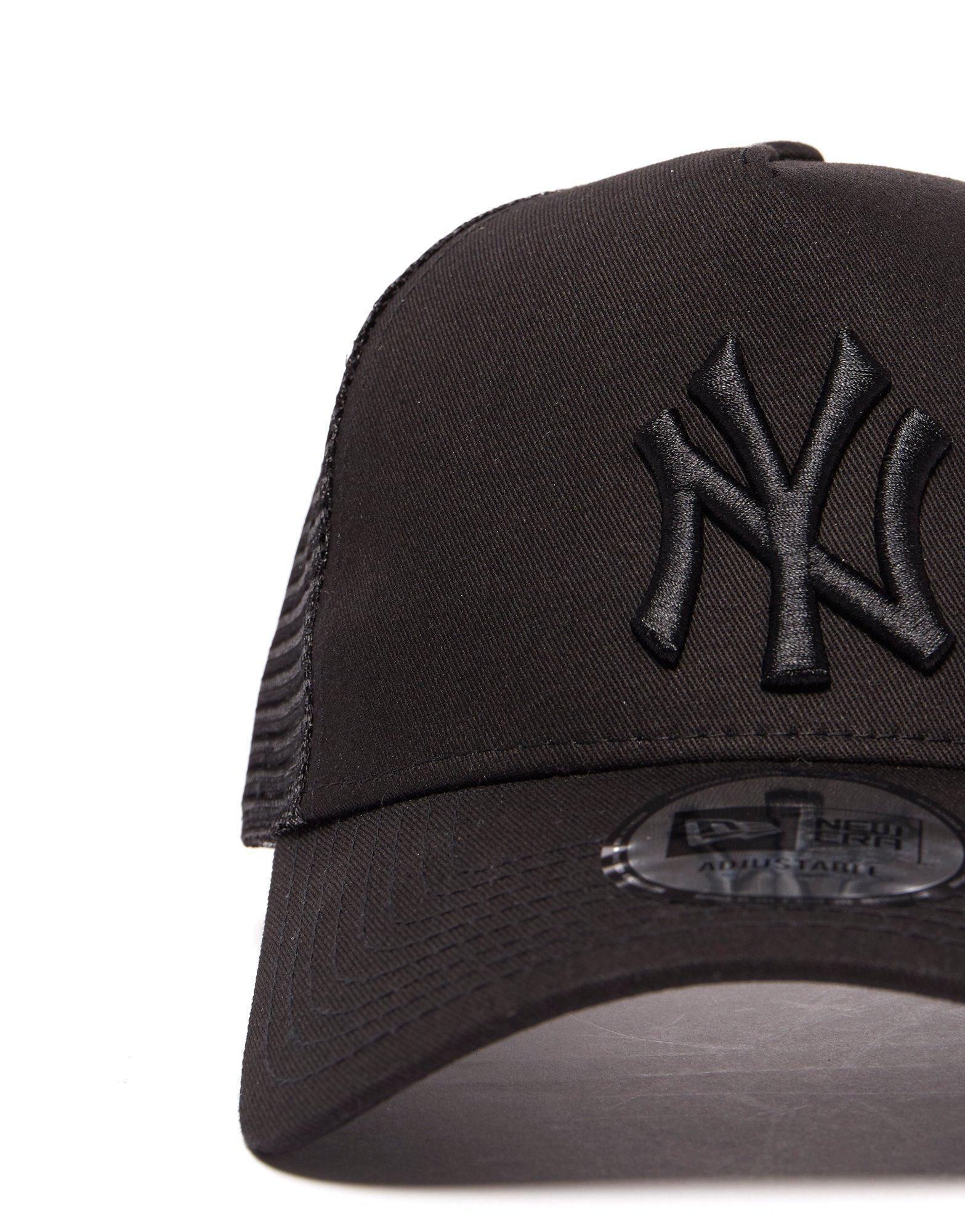 7eb448d14dd ... ktz mlb new york yankees snapback trucker cap in black lyst