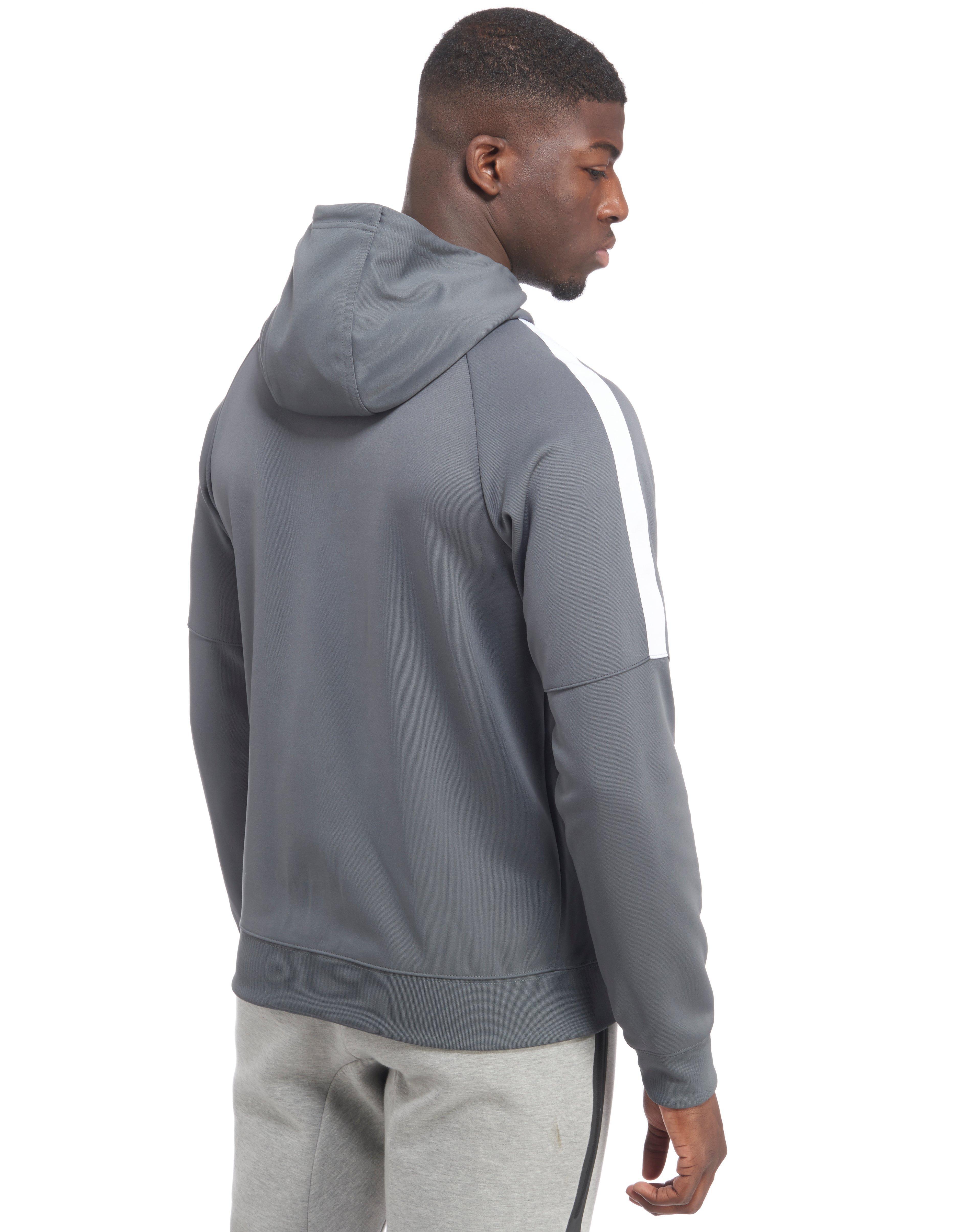 Nike Tribute Full Zip Poly Hoody in Gray for Men - Lyst 80dc67a05