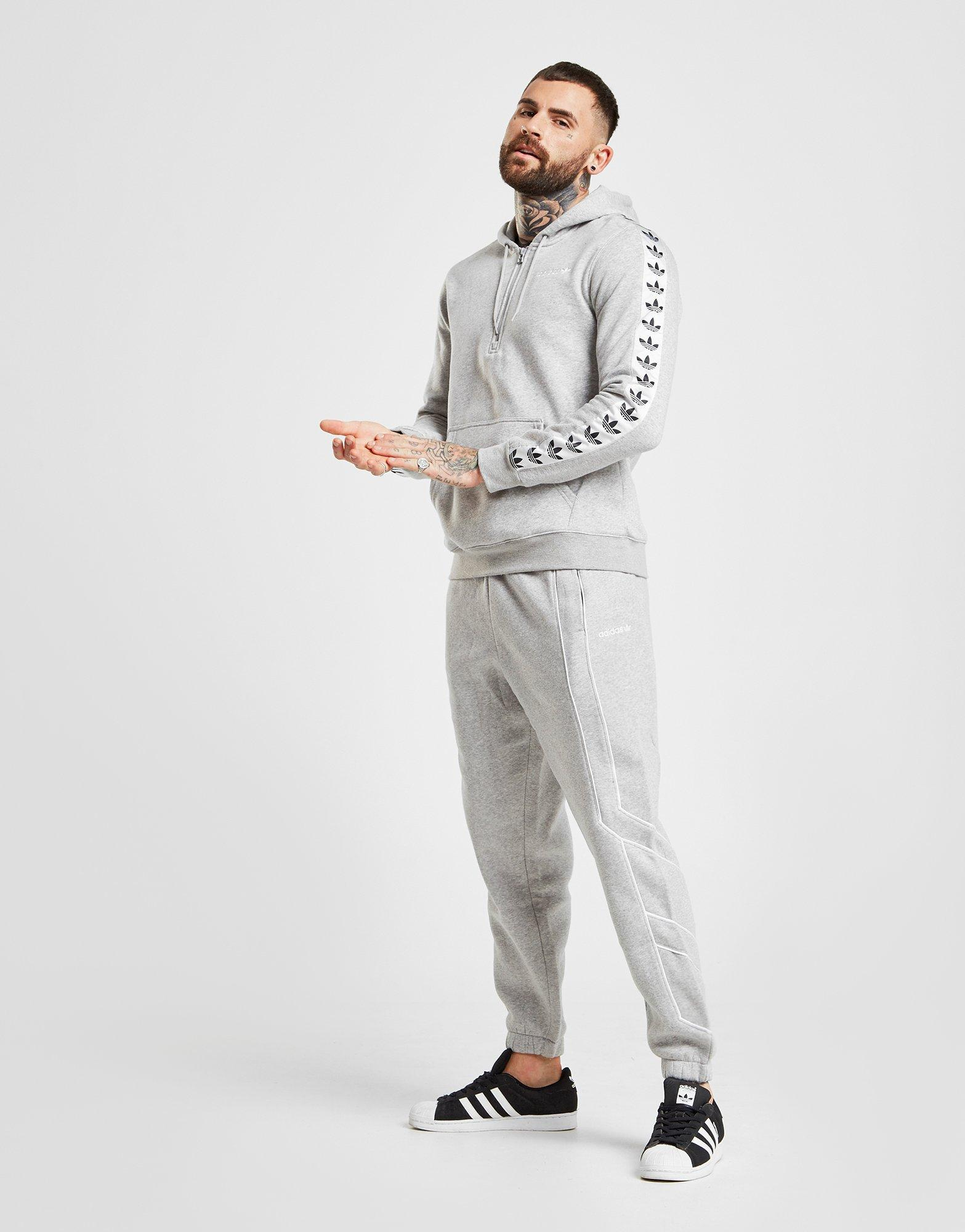 adidas 1/2 zip shirt fleece unisex