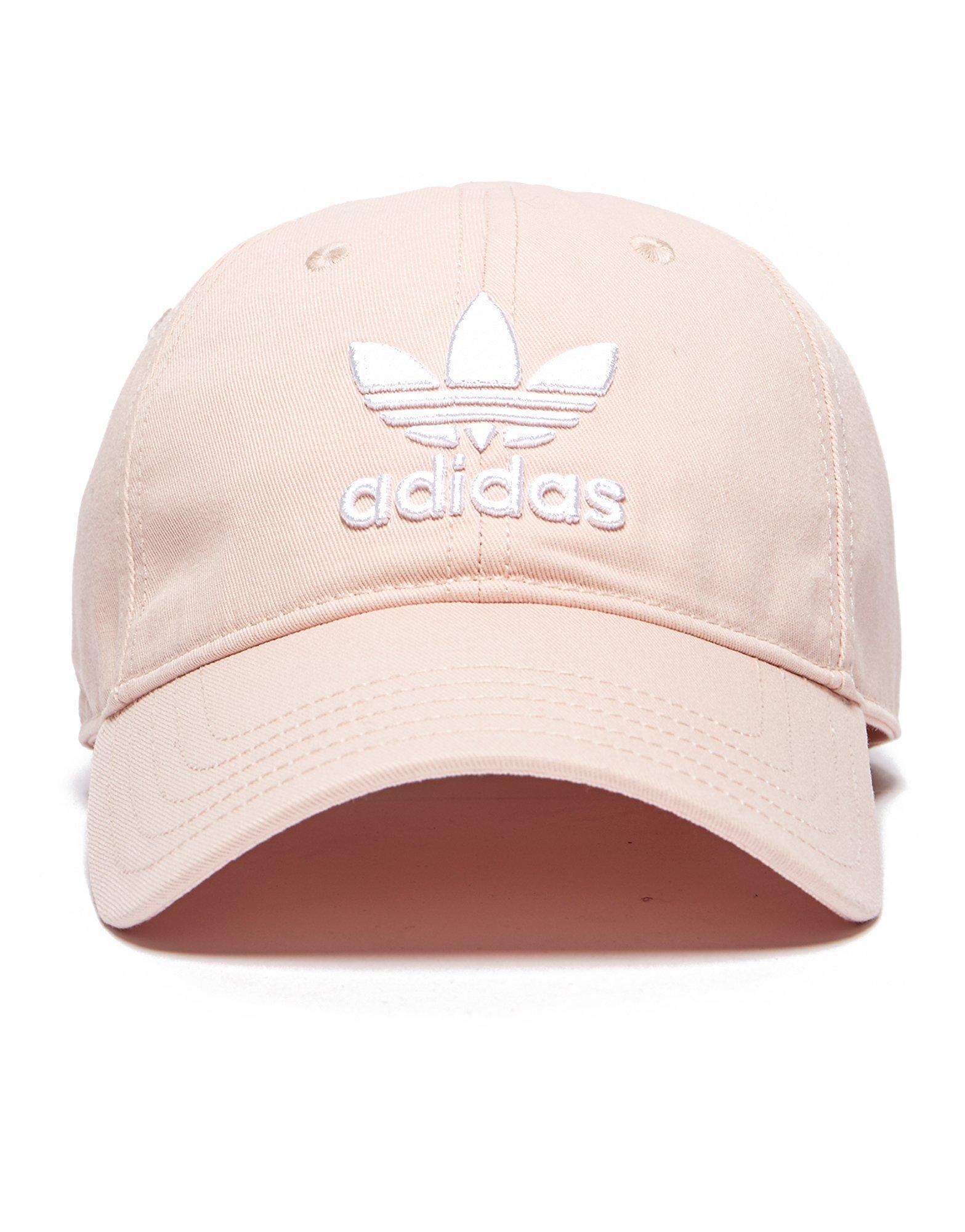 5e2df245835 adidas Originals Trefoil Classic Cap in Pink for Men - Lyst