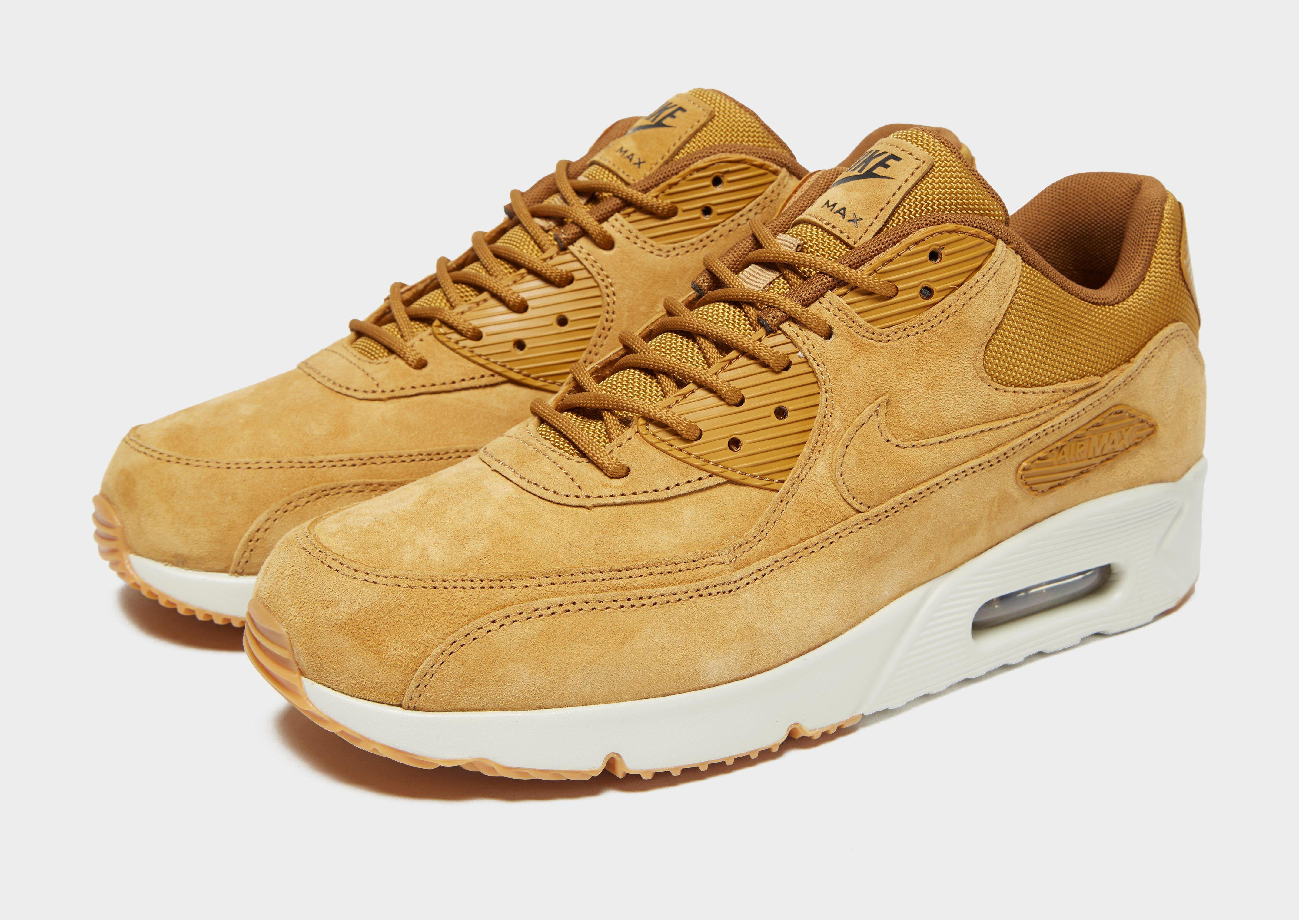 Nike Synthetic Air Max 90 Ultra 2.0 Leather Wheat/ Wheat-light ...
