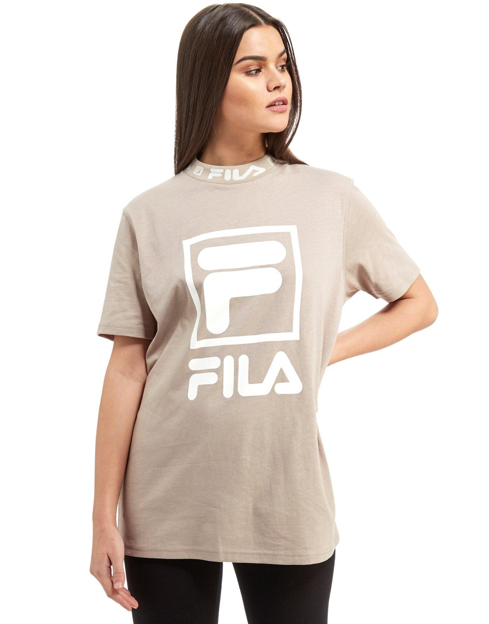 Fila Cotton Jd Tape Bf T Beige $ in Natural - Lyst
