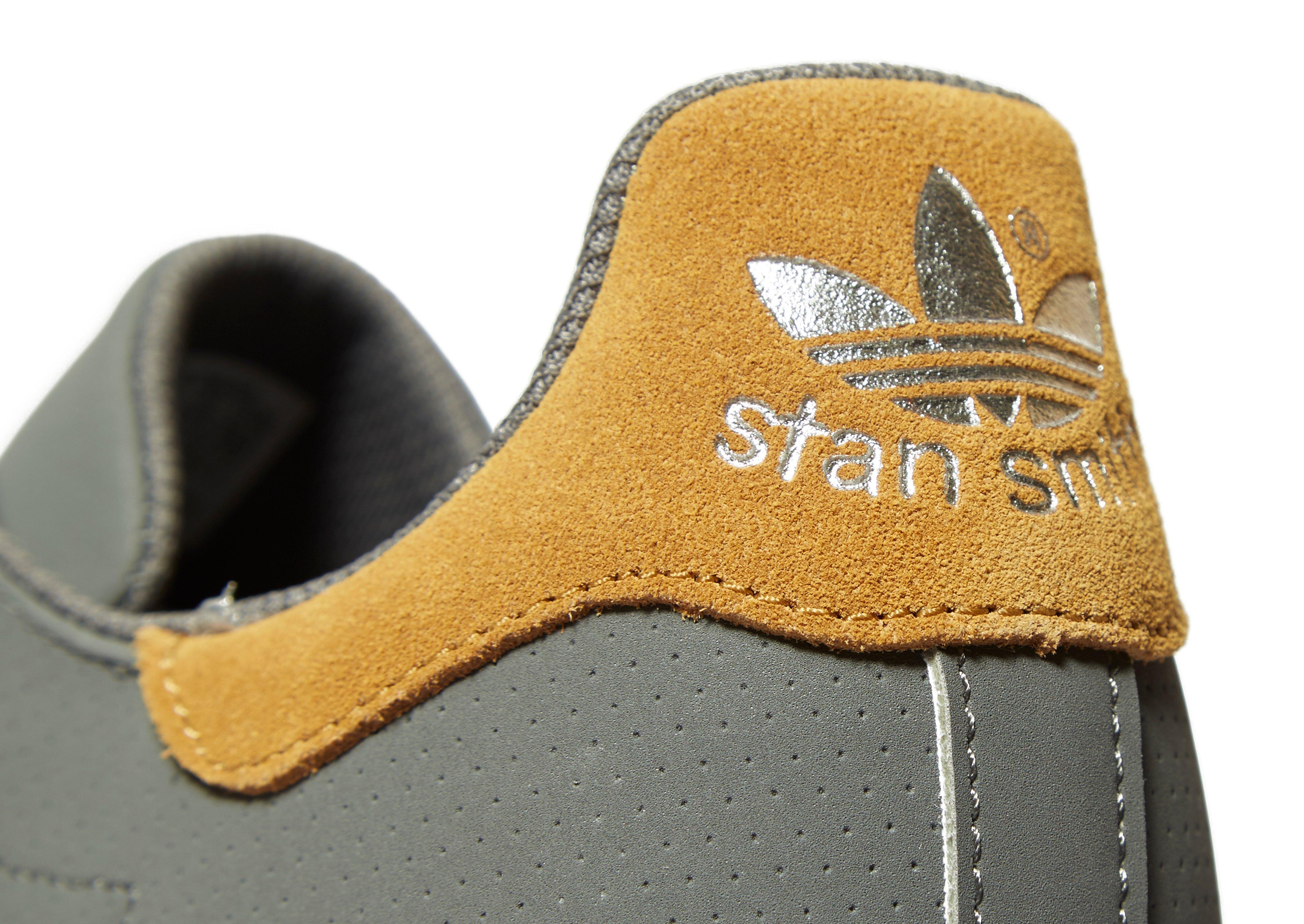 adidas Originals Synthetic Stan Smith Vulc in Grey/Yellow (Grey) for Men