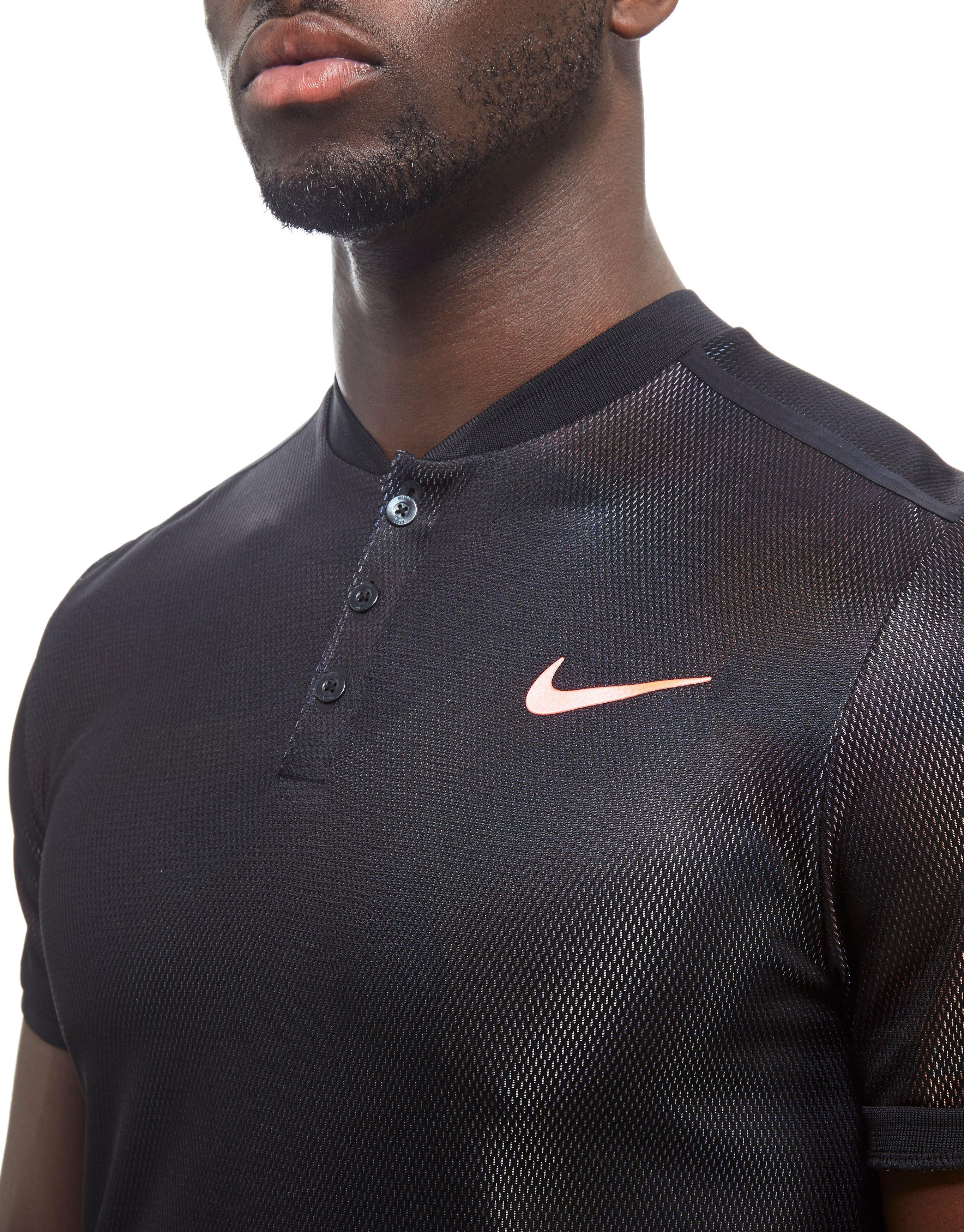 Nike Synthetic Court Dry Advantage Tennis Polo in Blue for Men