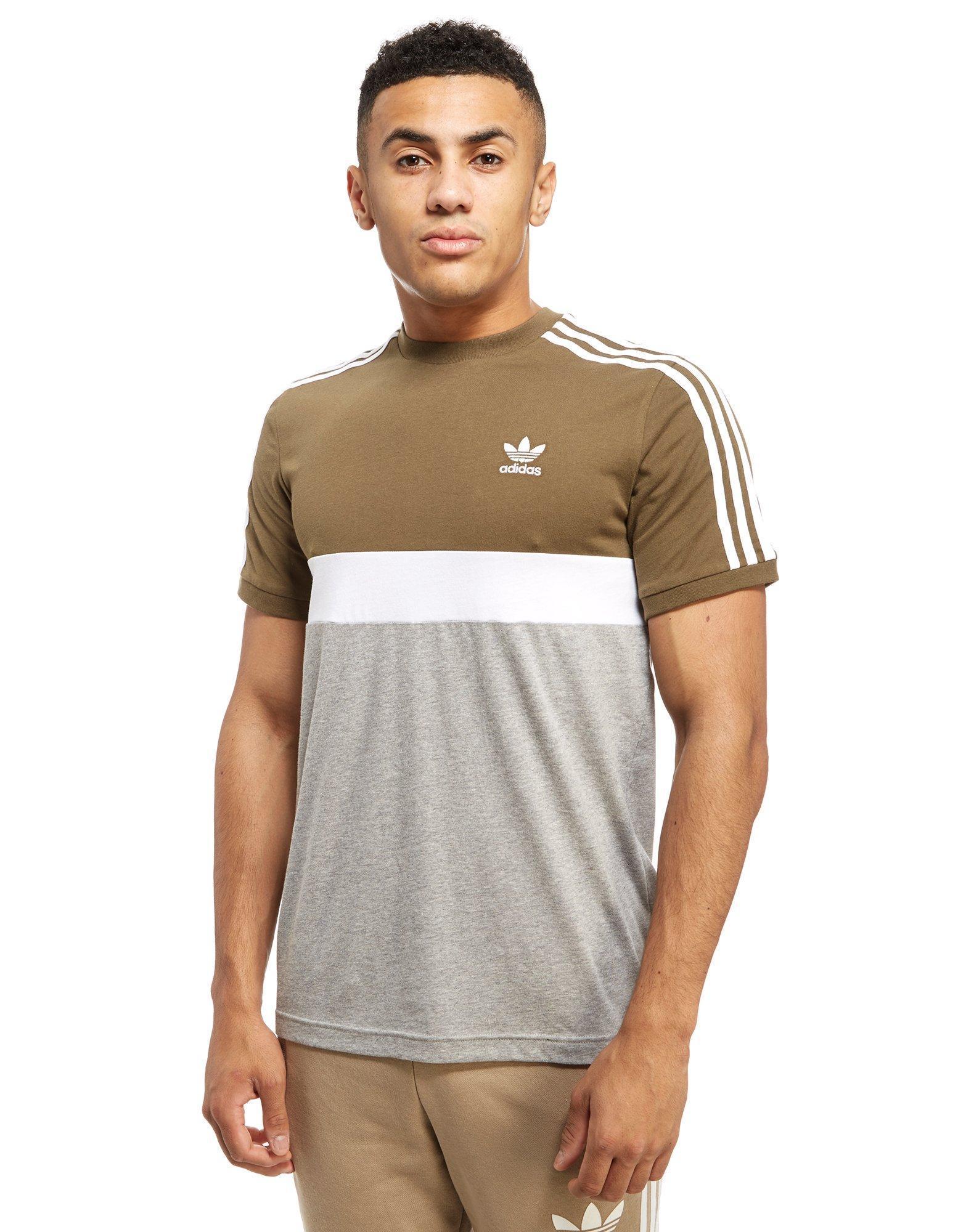 adidas Originals Synthetic California 2 T-shirt in Mid Grey ...
