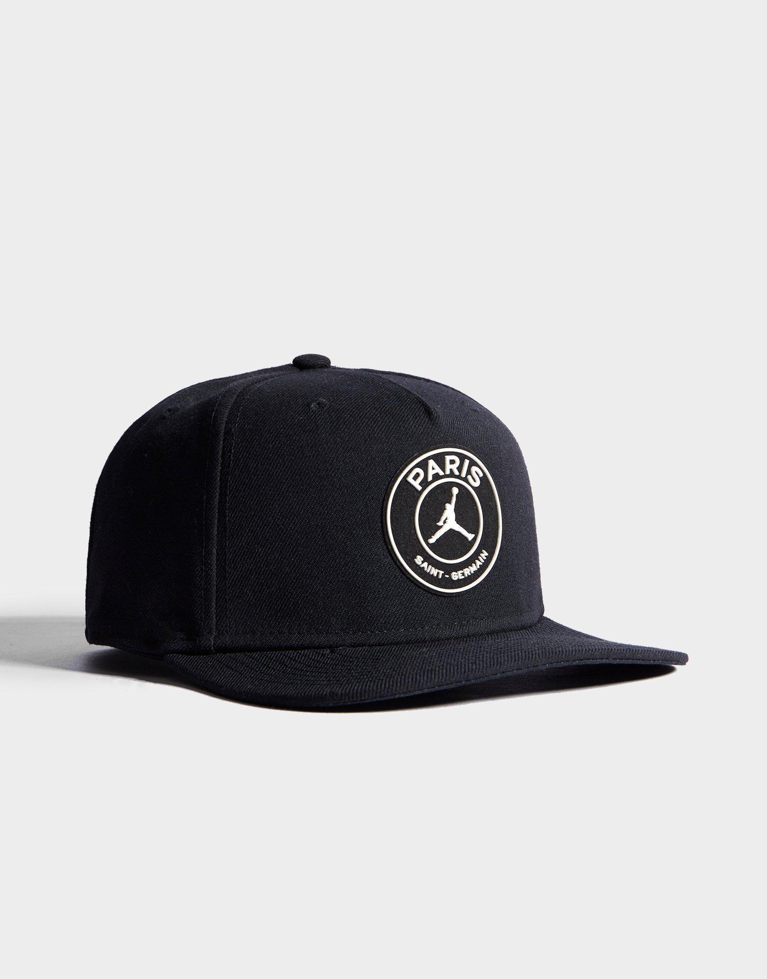 4795f7294 Nike Black X Paris Saint Germain Pro Cap for men
