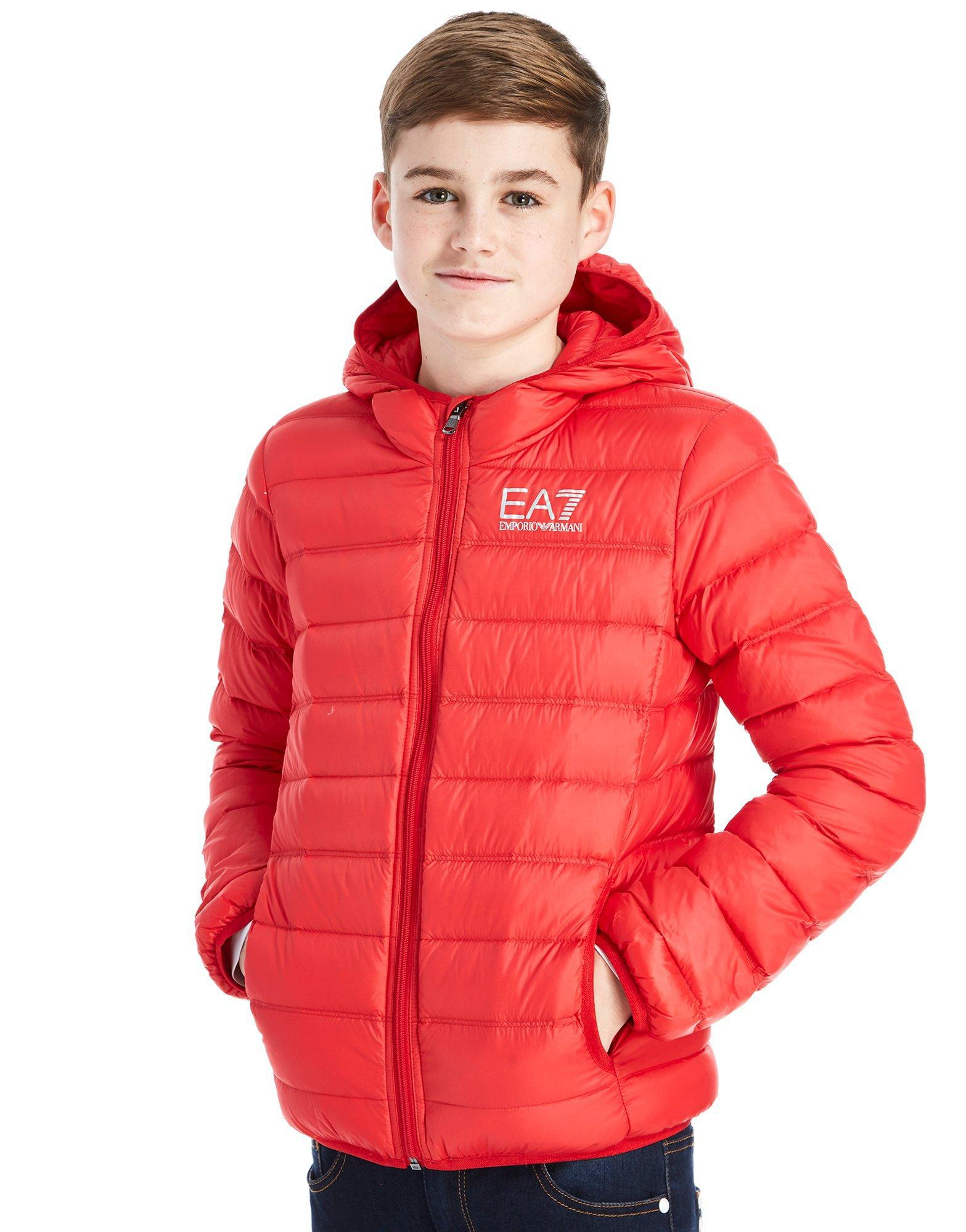 6a9597140 EA7 Core Down Jacket Junior in Red for Men - Lyst