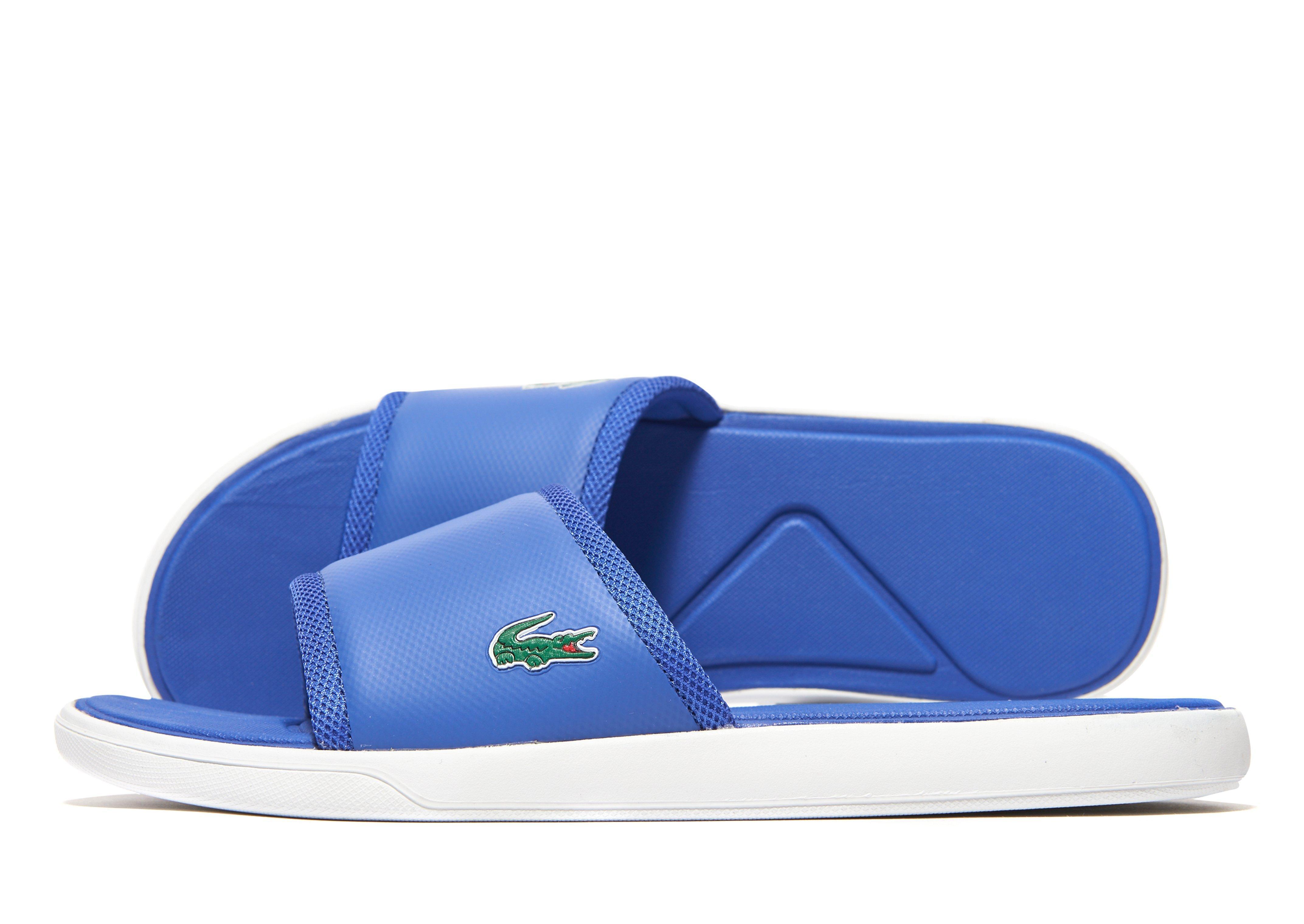 e4517111543 Lacoste L30 Slide in Blue for Men - Lyst