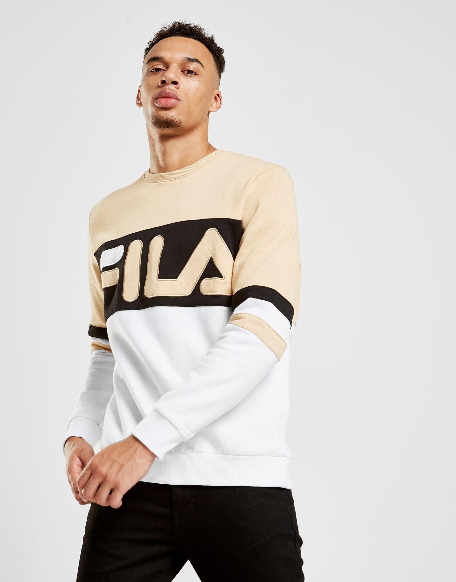 Fila Cotton Freddie Crew Sweatshirt for Men - Lyst